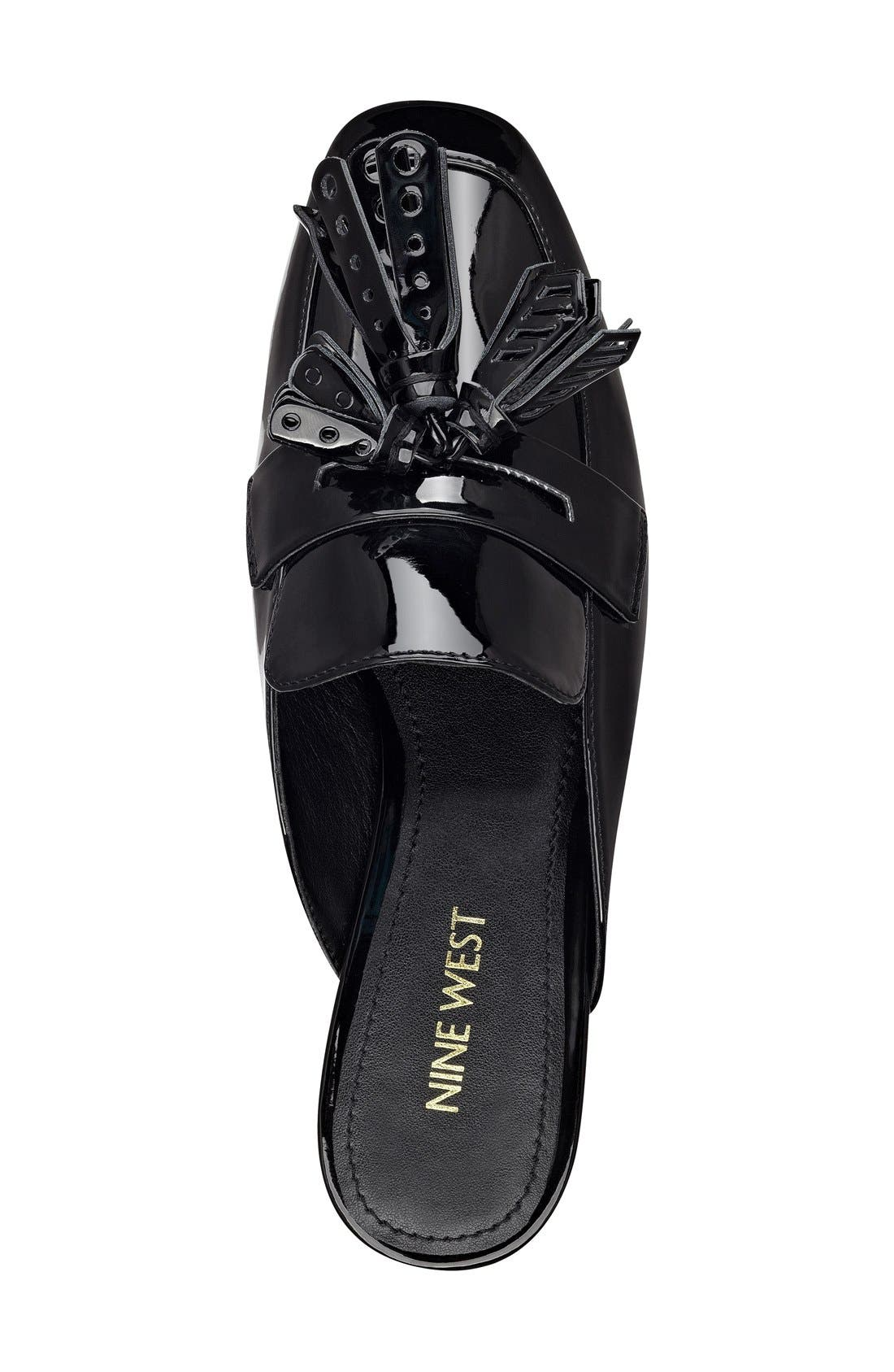 Alternate Image 3  - Nine West 'Xenisa' Flat Loafer Mule (Women)