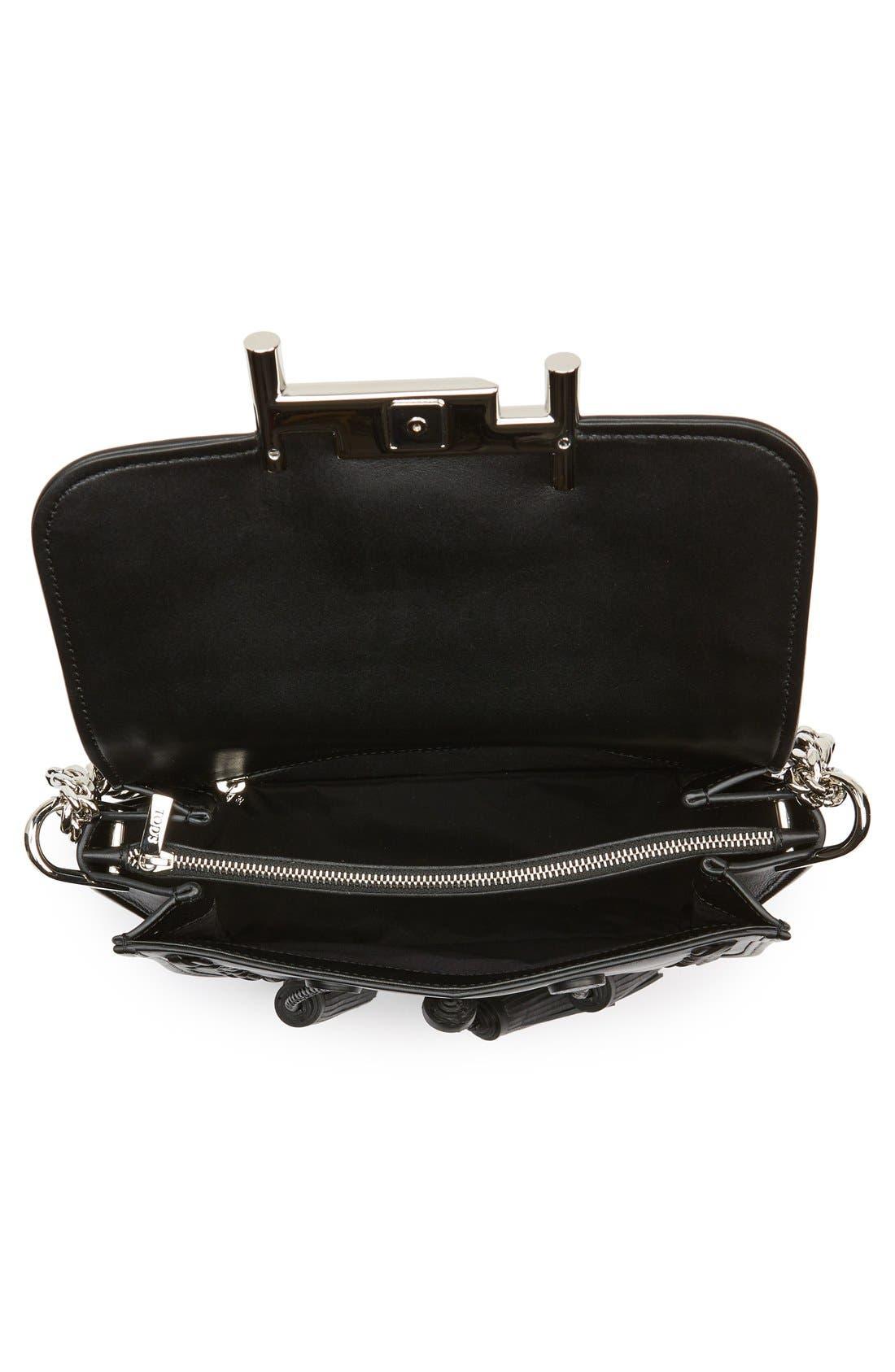 Alternate Image 5  - Tod's 'Mini Double T' Leather Shoulder Bag