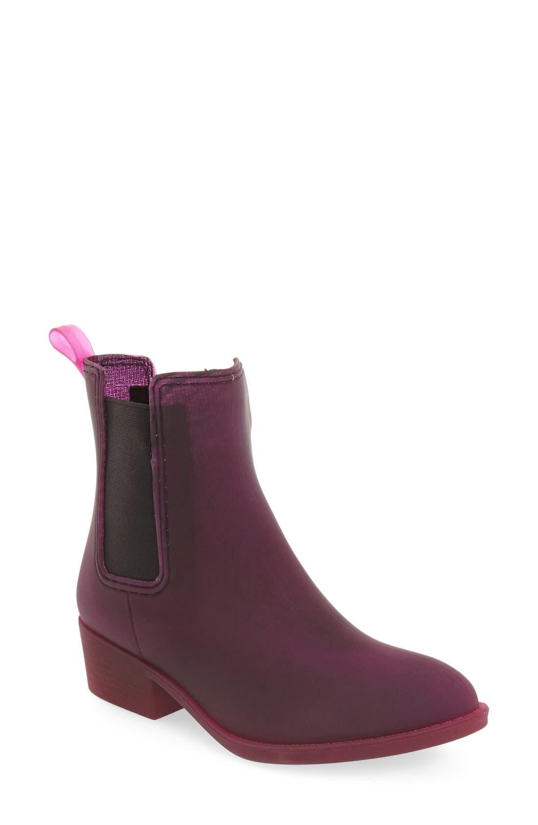 Alternate Image 1 Selected - Jeffrey Campbell 'Stormy' Rain Boot (Women)