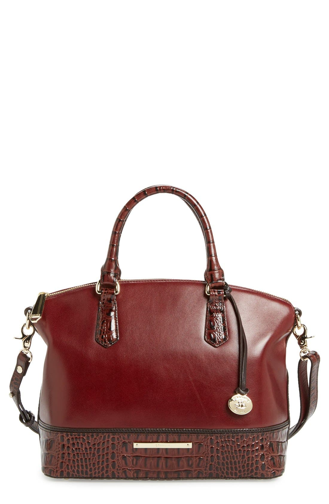 Alternate Image 1 Selected - Brahmin 'Duxbury' Leather Satchel