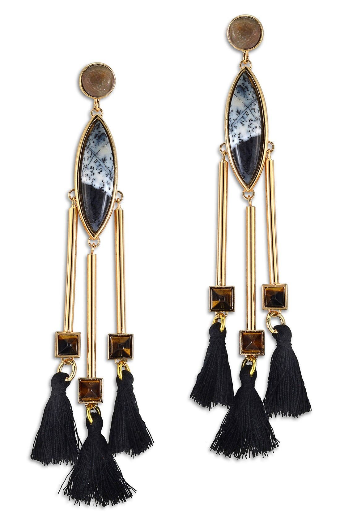 Main Image - Natalie Waldman 'Pyramid' Drop Earrings