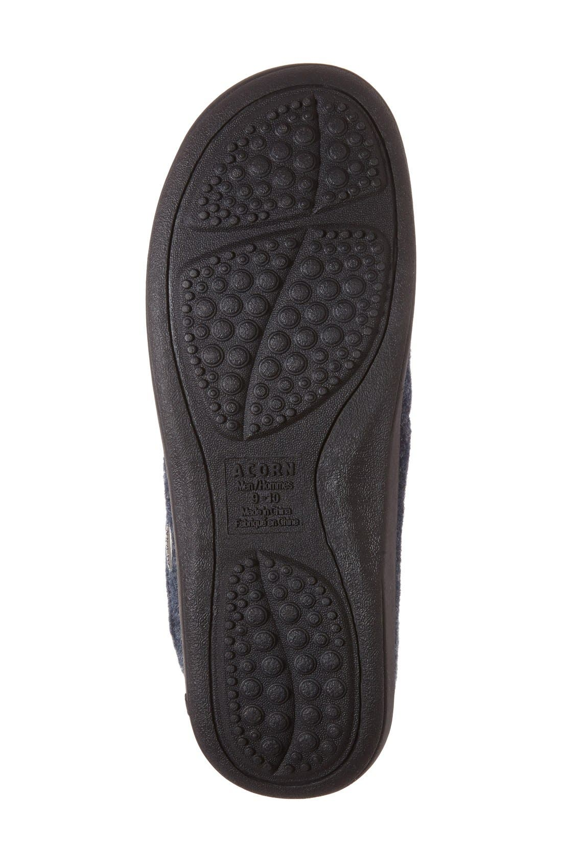 Alternate Image 4  - Acorn 'Digby' Slipper (Men)