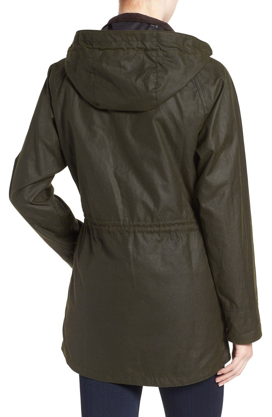 Alternate Image 2  - Barbour Brae Waxed Cotton Parka