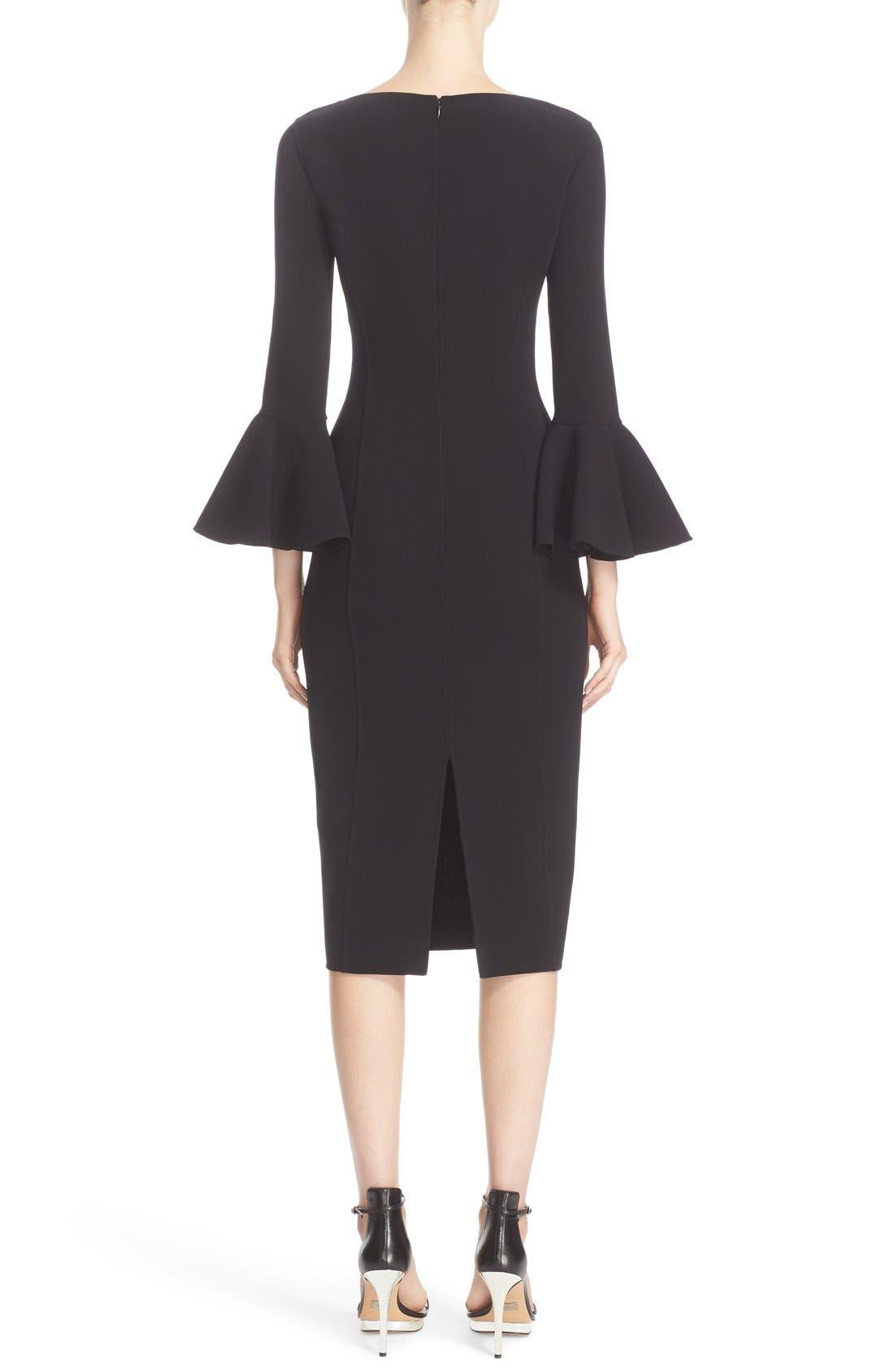 Alternate Image 2  - Michael Kors Bell Sleeve Sheath Dress