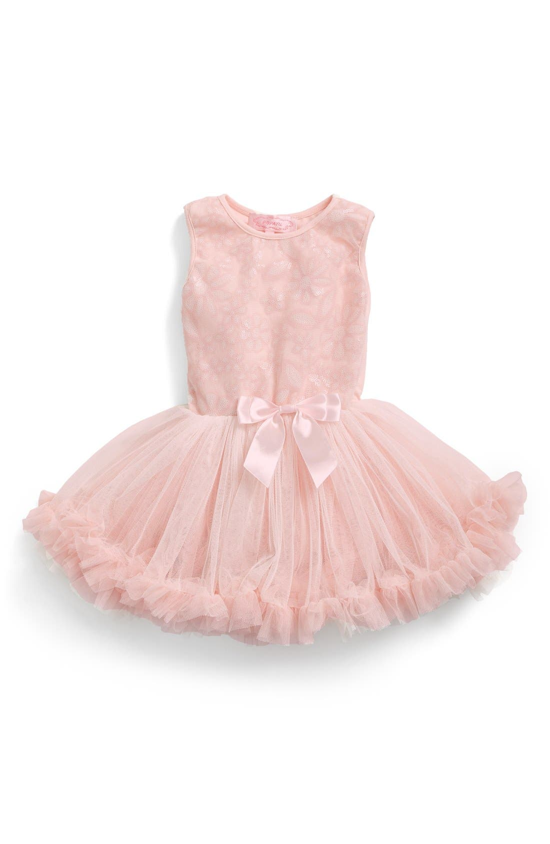 Popatu Floral Sequin Pettidress (Baby Girls)