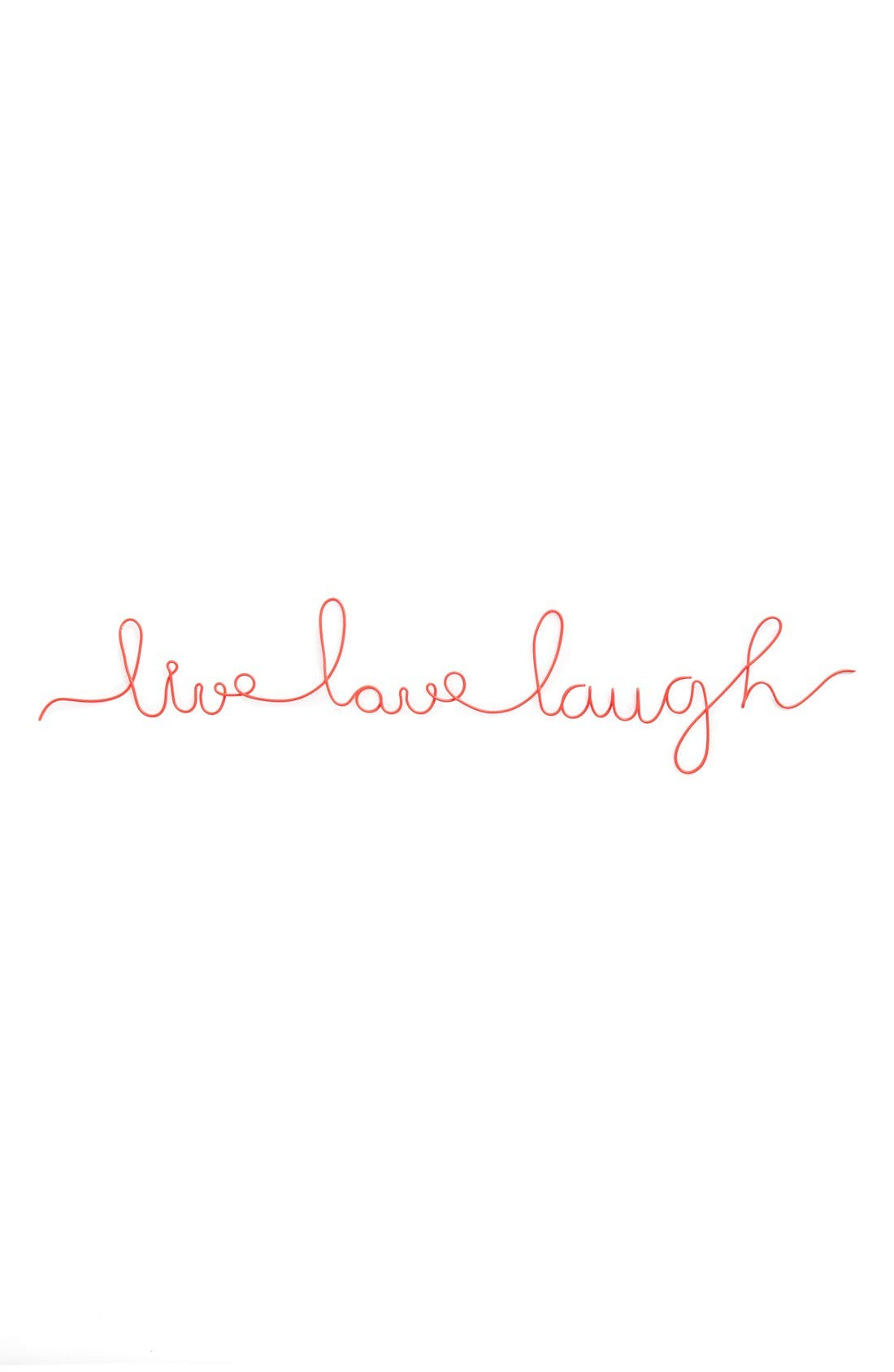 Alternate Image 1 Selected - Natural Life 'Live Love Laugh' Wire Wall Art
