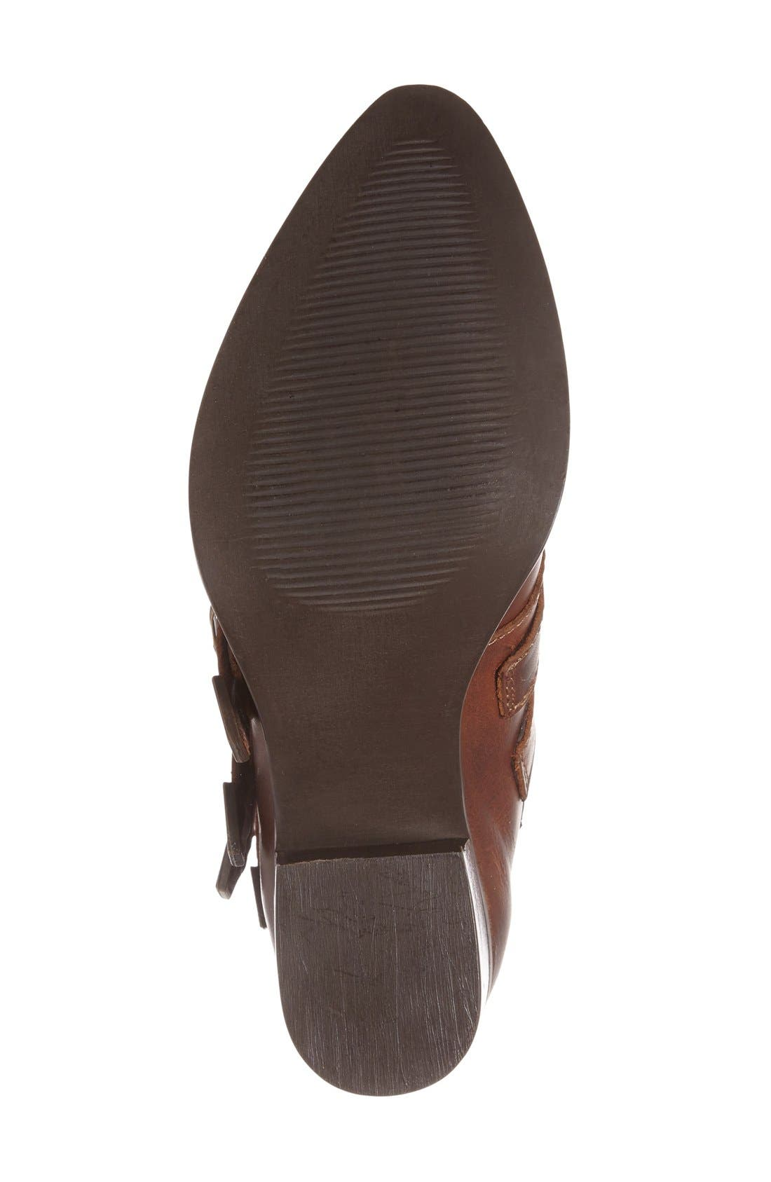 Alternate Image 4  - Steve Madden 'Praire' Buckle Strap Western Bootie (Women)