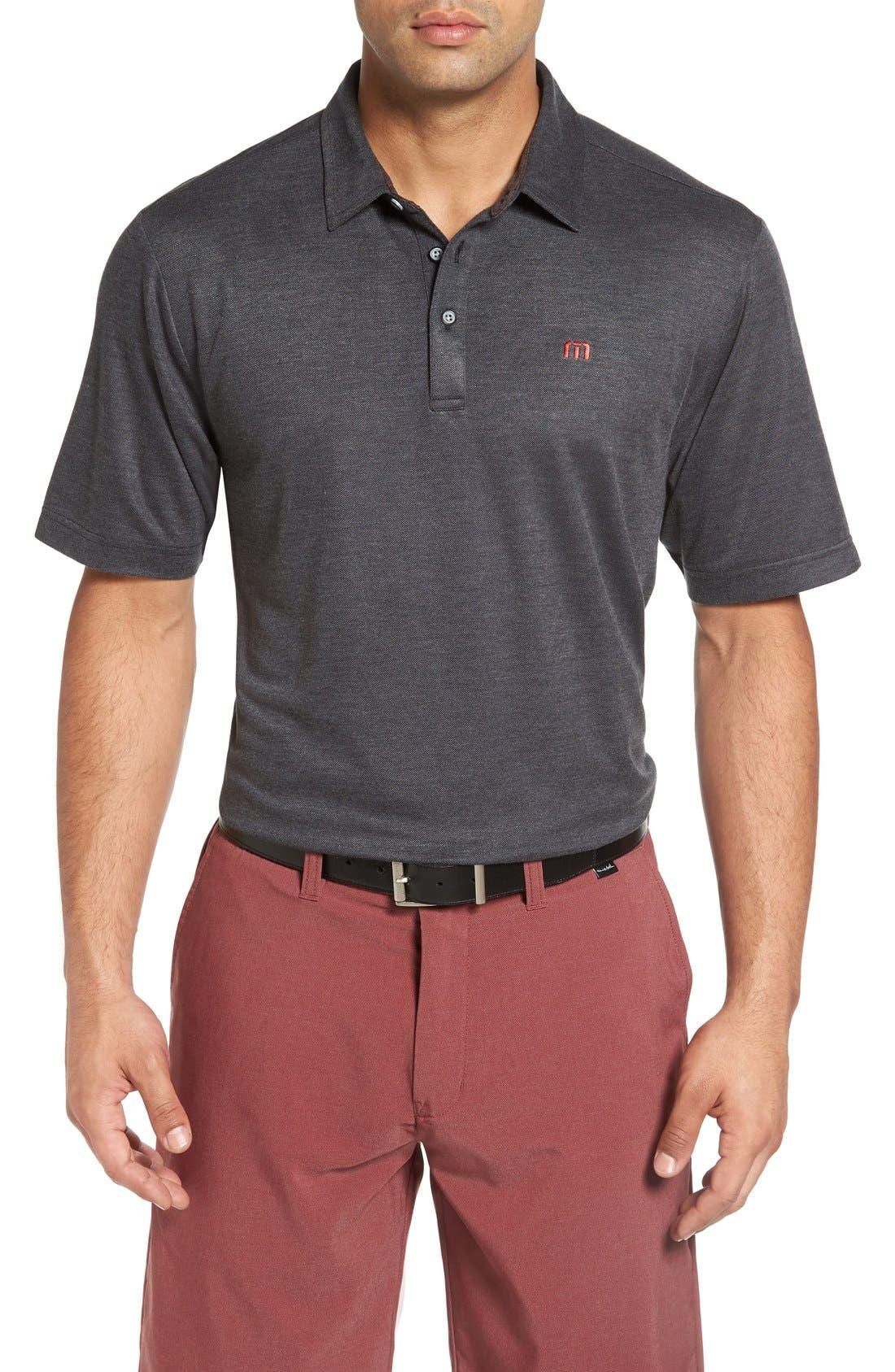 Travis Mathew Rawls Slim Fit Golf Polo