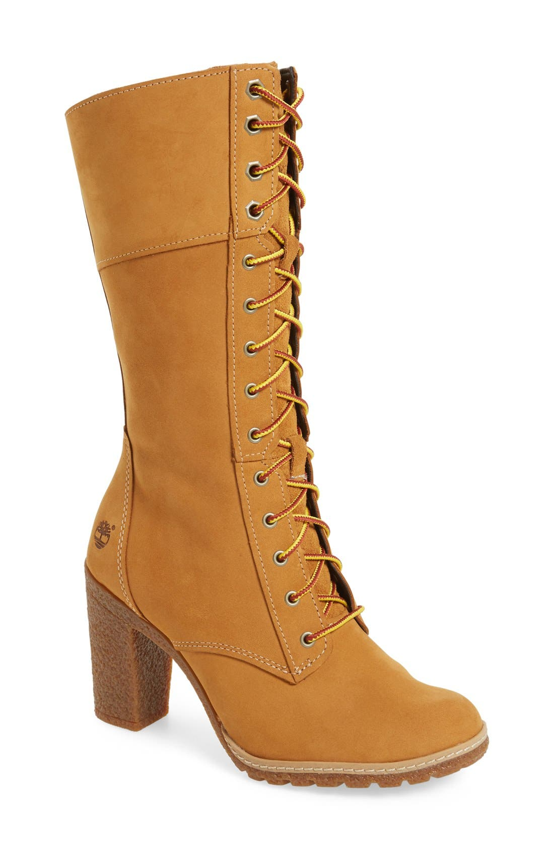 Timberland 'Glancy 10 Inch' Lace-Up Boot (Women)