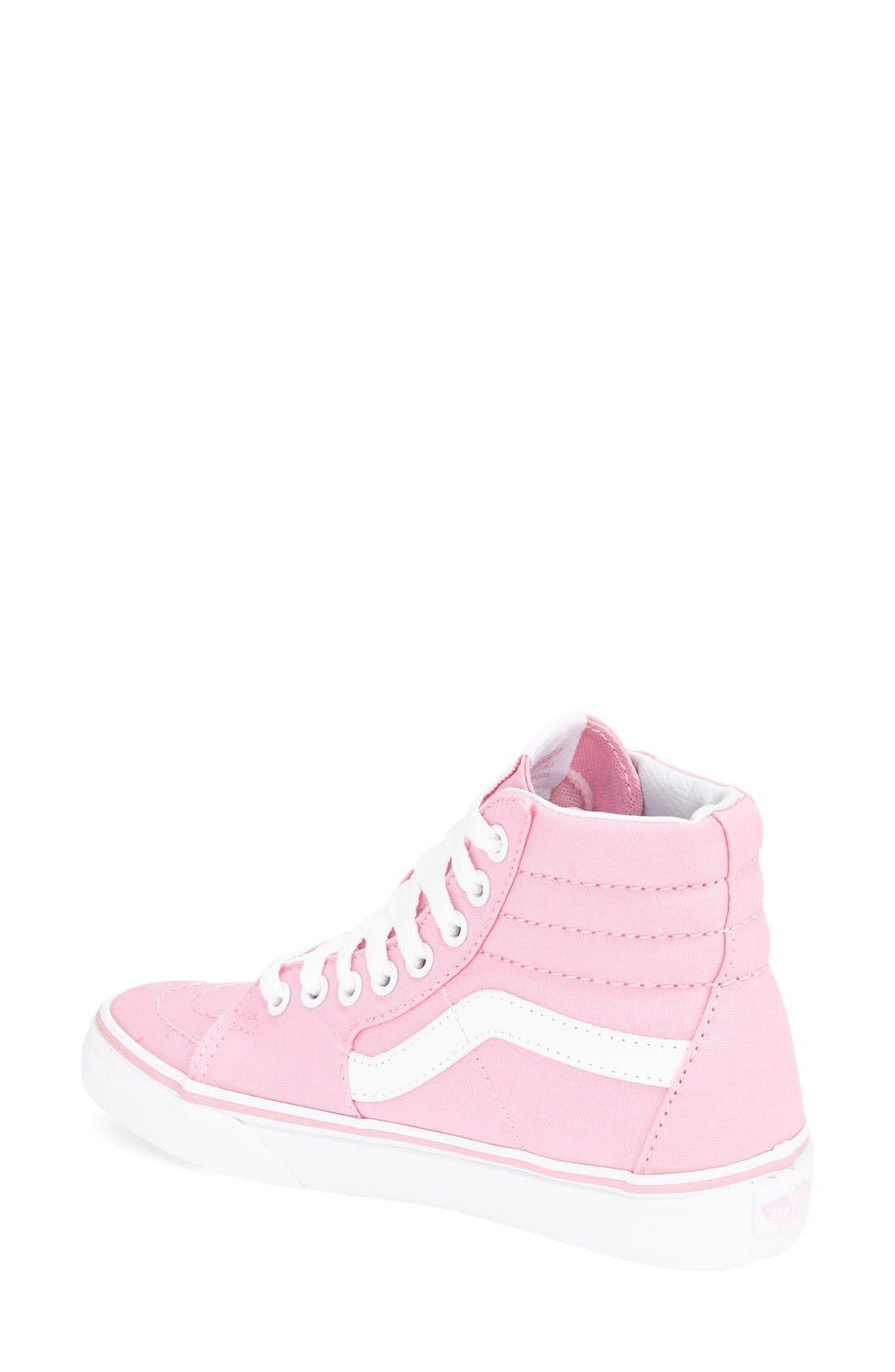 Alternate Image 2  - Vans 'Sk8-Hi' Sneaker (Women)