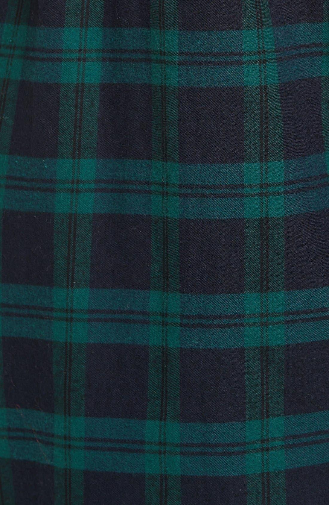 Alternate Image 6  - Madewell Ex Boyfriend - Dark Plaid Classic Shirt