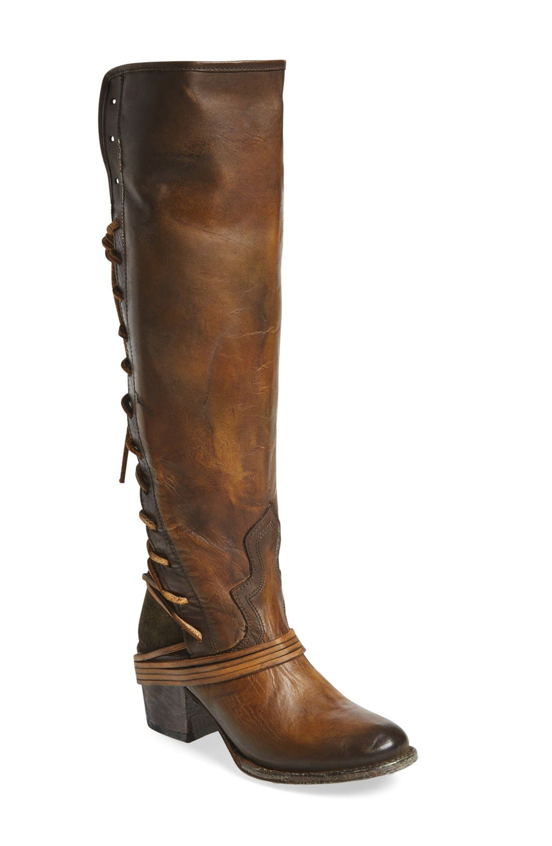 Freebird by Steven 'Coal' Tall Leather Boot (Women)