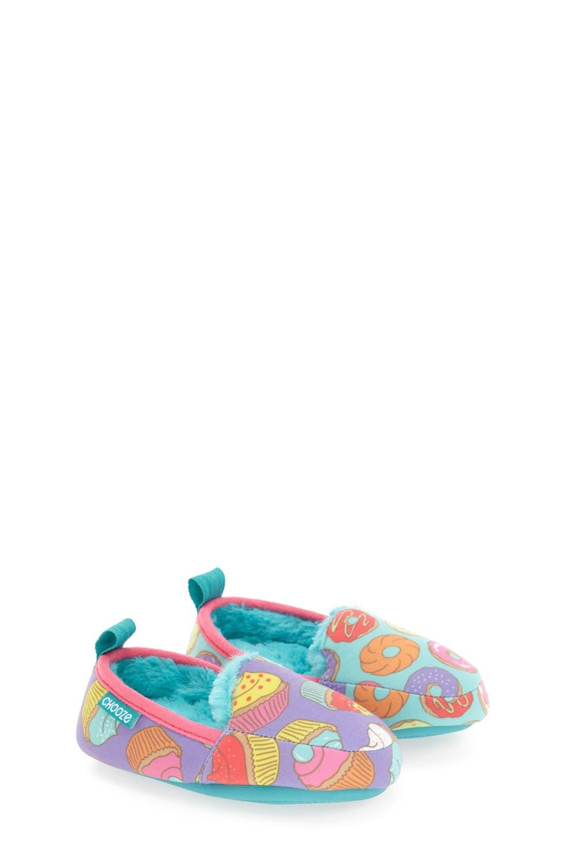 Main Image - CHOOZE 'Slumber' Slippers (Toddler, Little Kid & Big Kid)