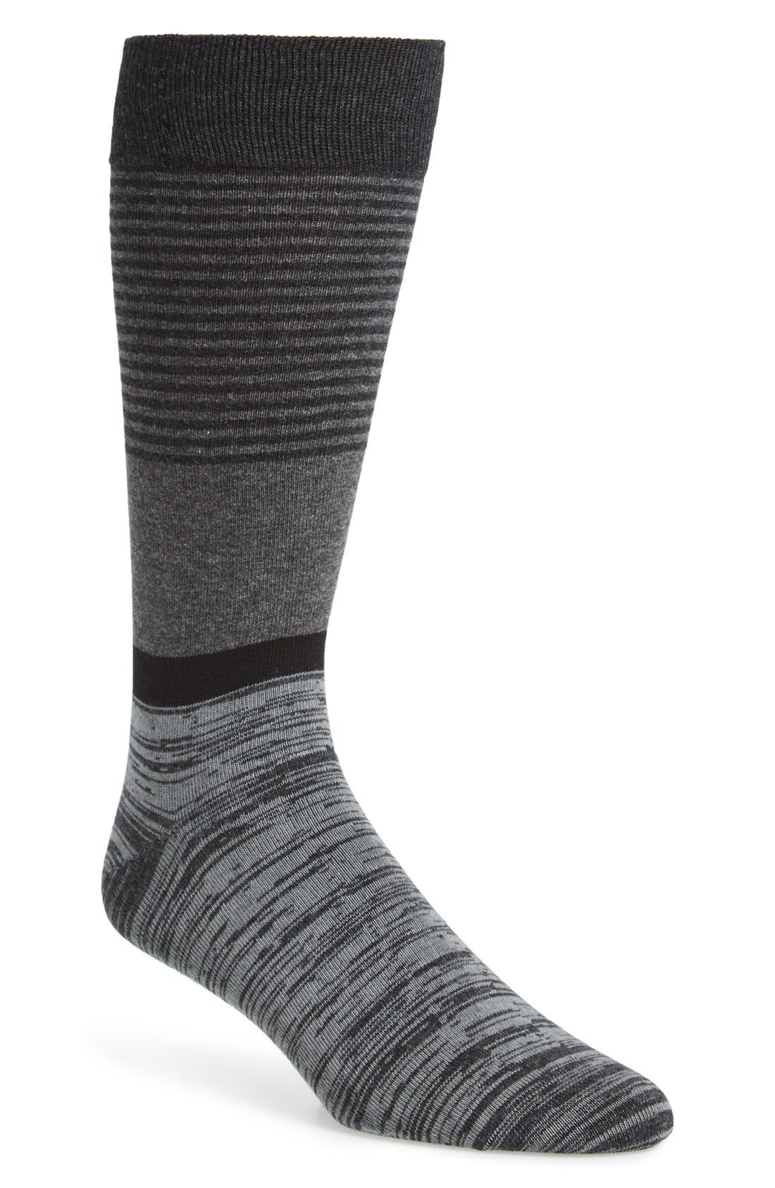 CALIBRATE Colorblock Stripe Socks