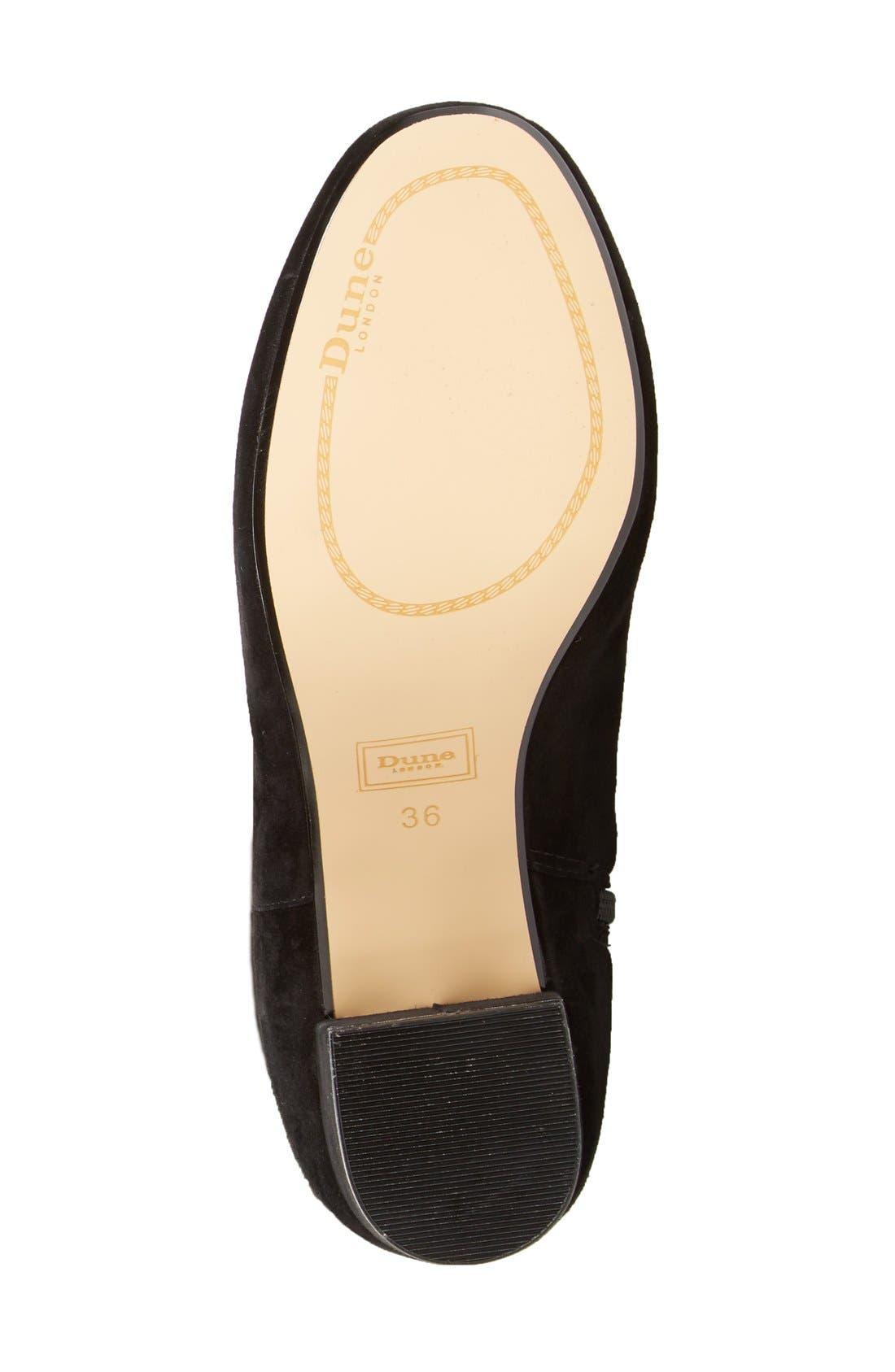 Alternate Image 4  - Dune London 'Sanford' Tall Boot (Women)
