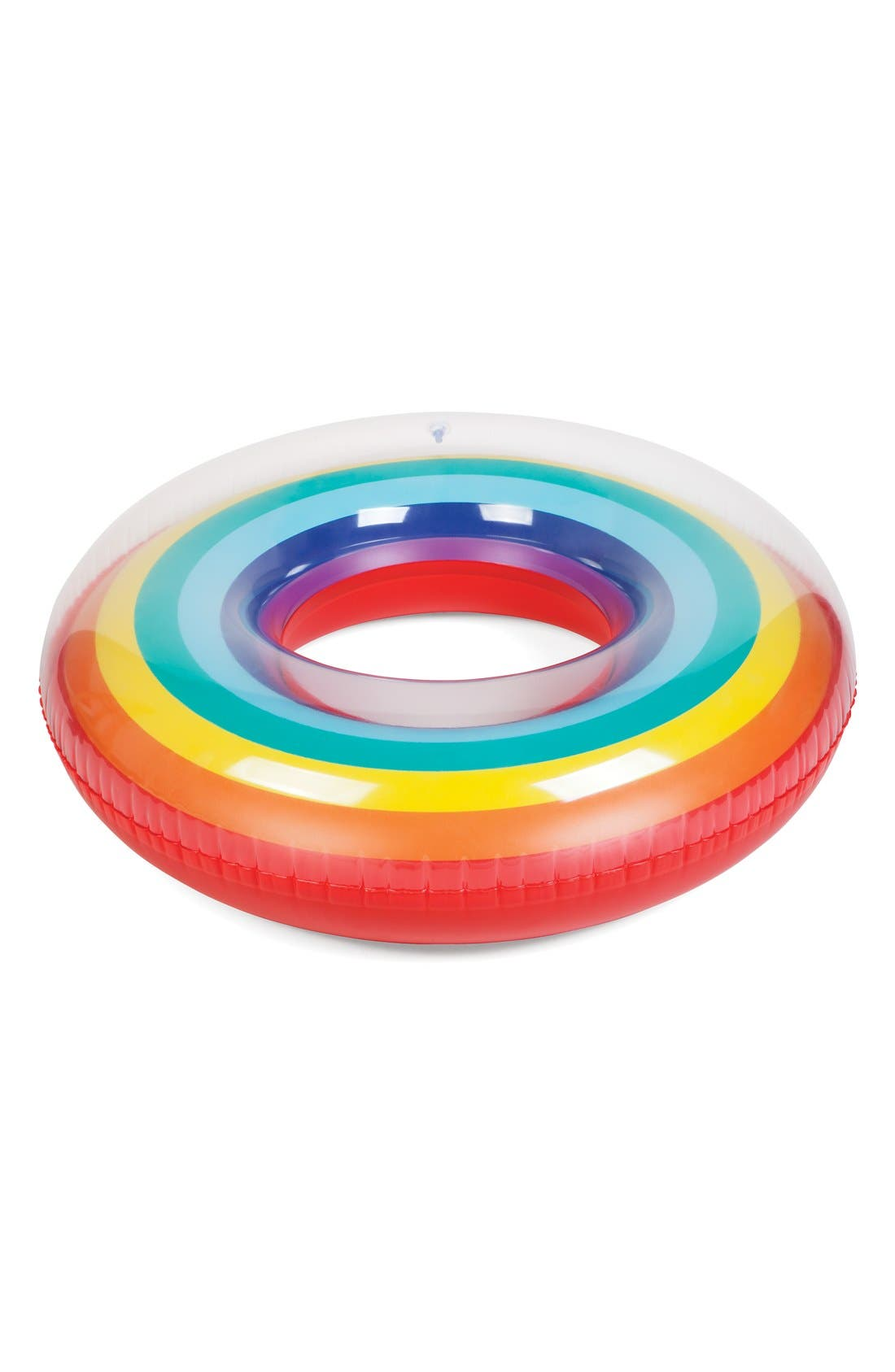 SUNNYLIFE Rainbow Inflatable Pool Ring