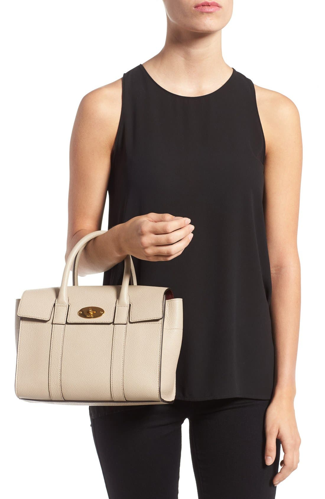 Alternate Image 2  - Mulberry 'Small Bayswater' Leather Satchel
