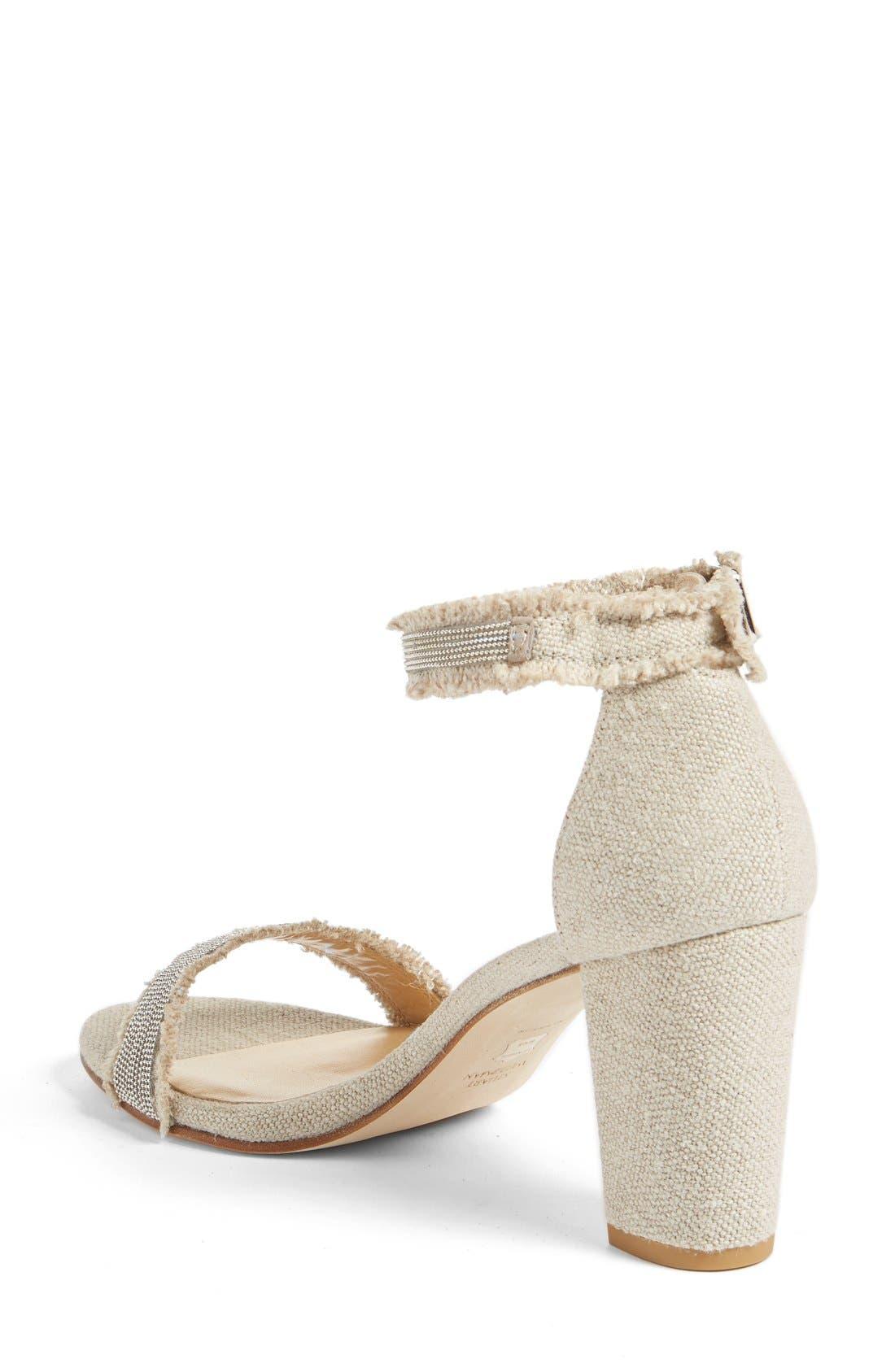 Alternate Image 2  - Stuart Weitzman 'Chaingang' Ankle Strap Sandal (Women)