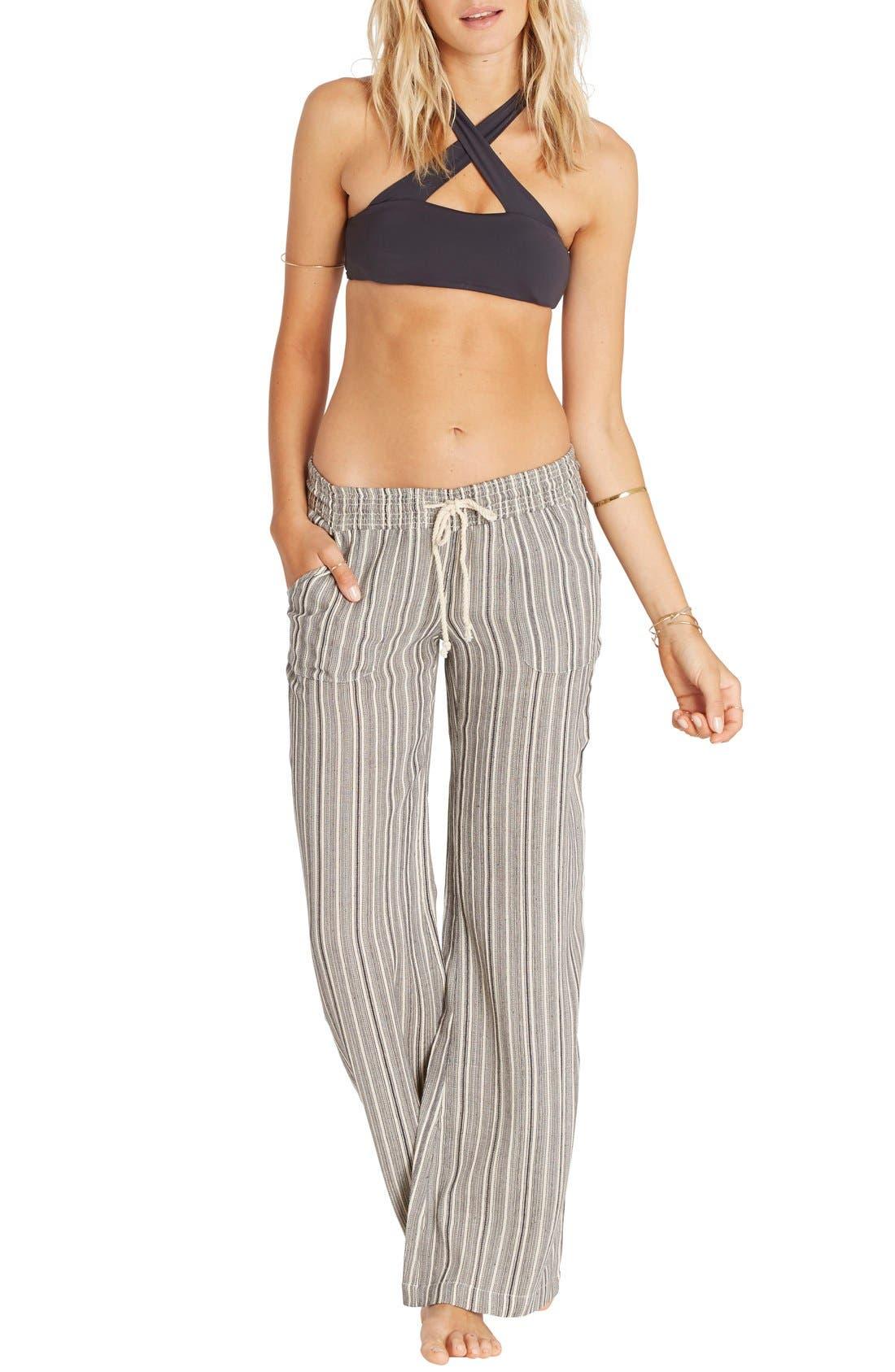 Alternate Image 2  - Billabong Waves for Us Stripe Beach Pants