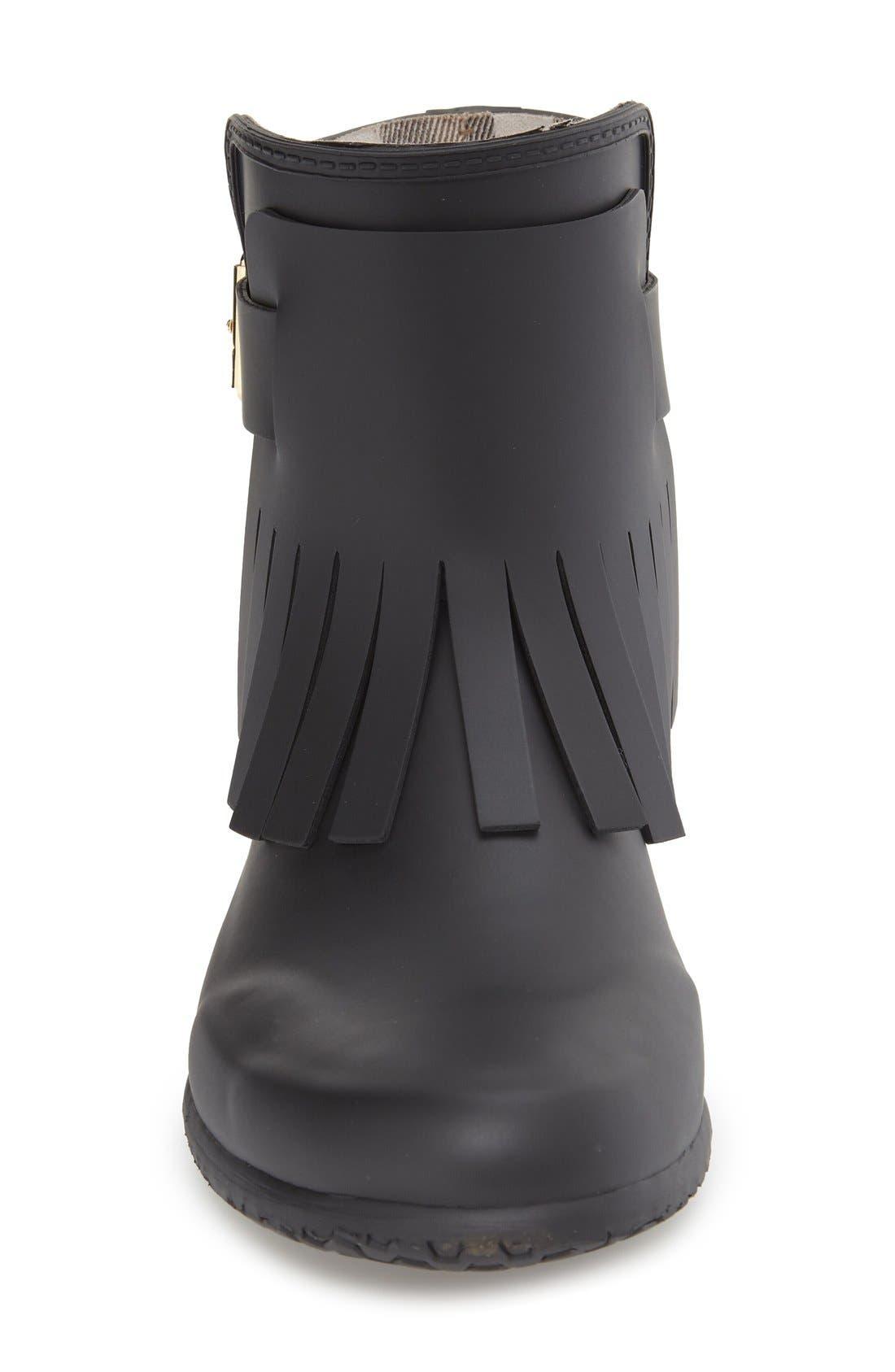 Alternate Image 3  - Burberry 'Fritton' Kiltie Rain Boot (Women)