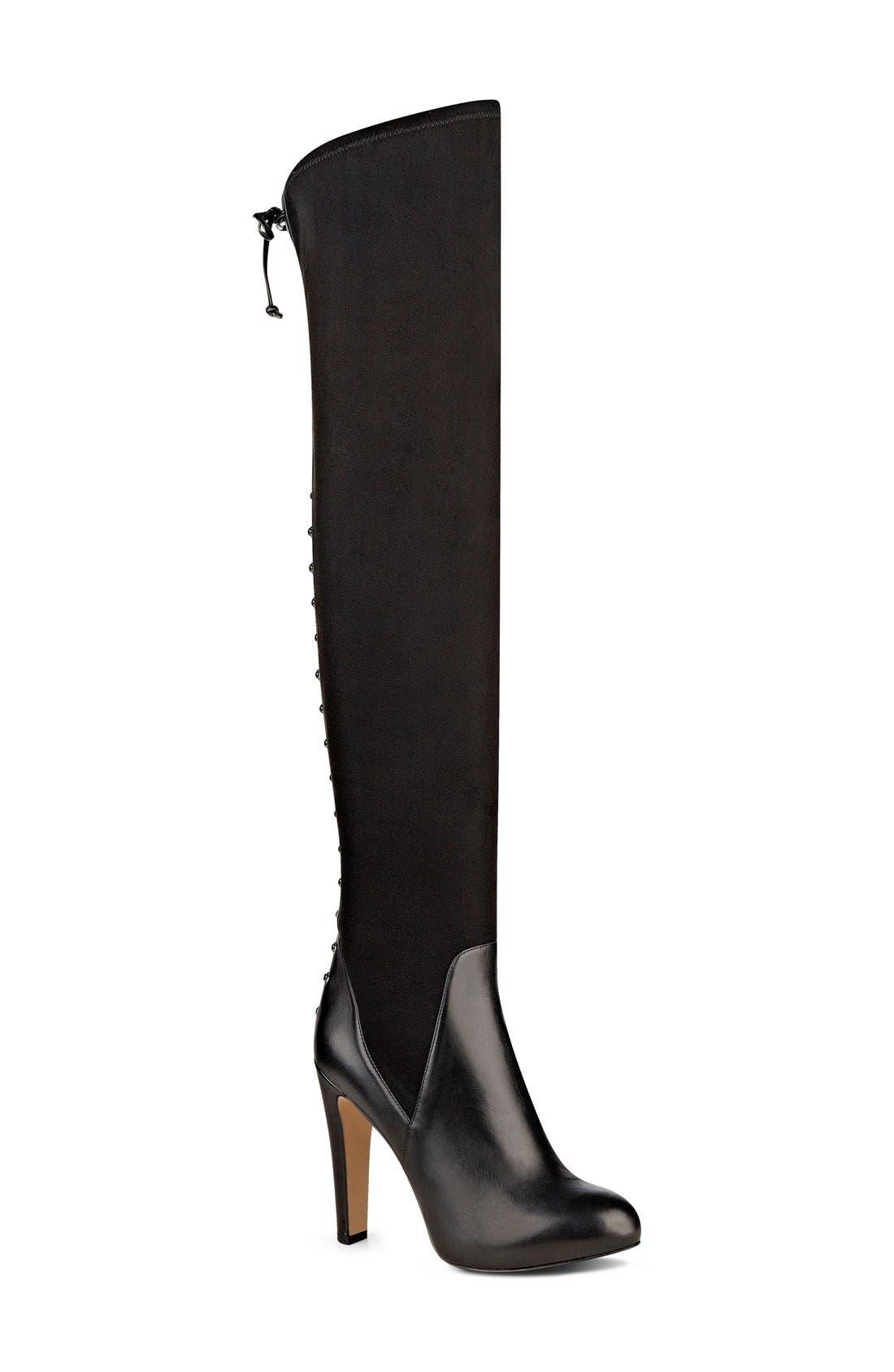 Alternate Image 1 Selected - Nine West 'Brennan' Over the Knee Boot (Women)