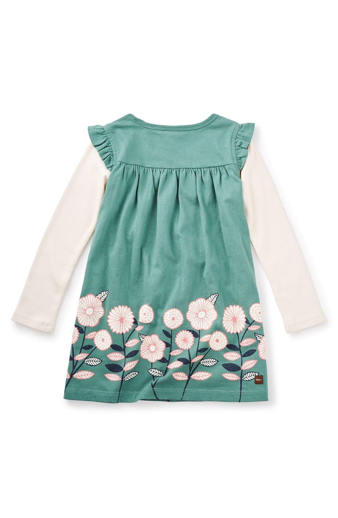 Alternate Image 2  - Tea Collection 'Midori - Double Decker' Layered Dress (Toddler Girls, Little Girls & Big Girls)