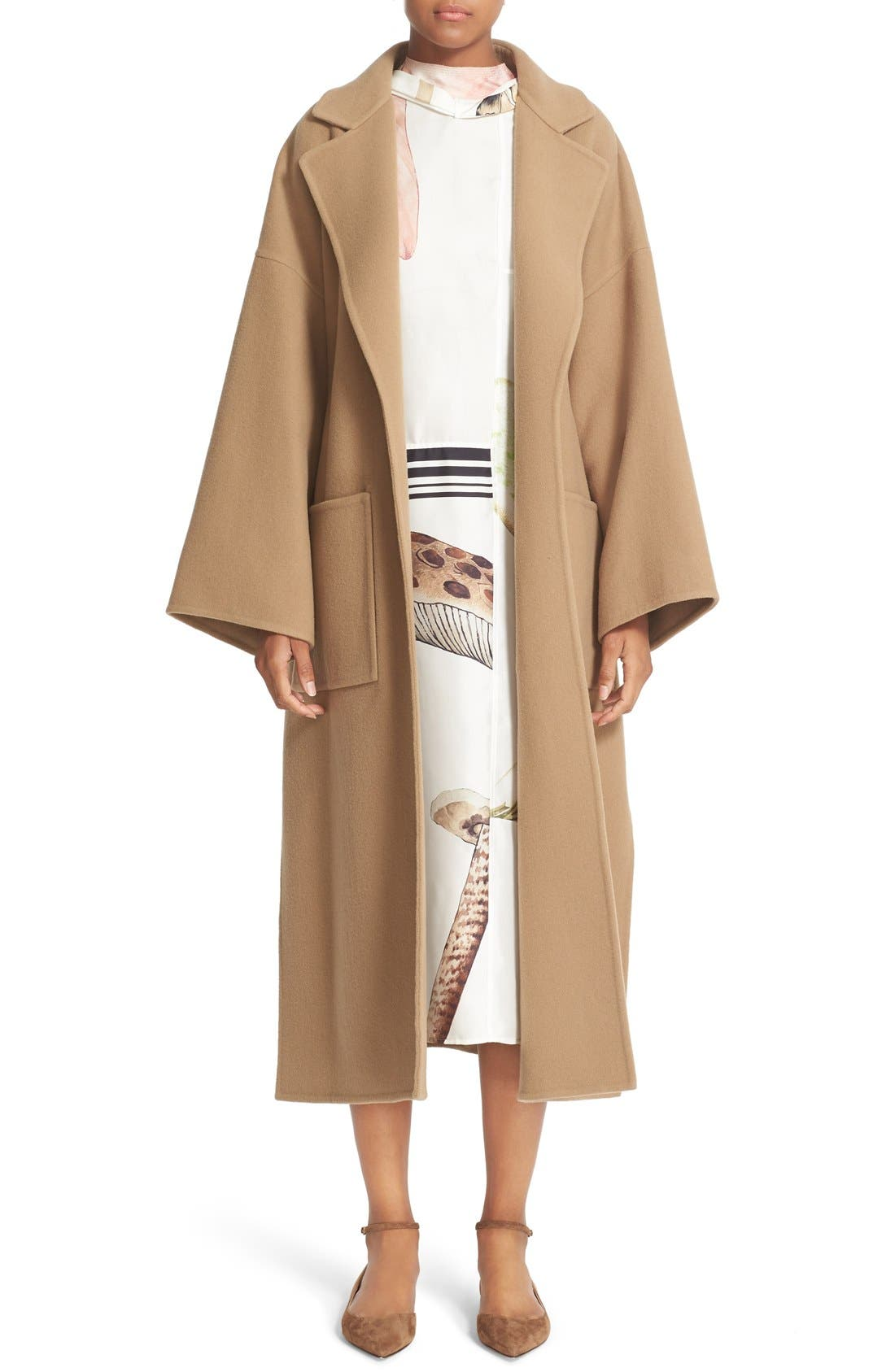 Alternate Image 1 Selected - Loewe Double Face Cashmere & Wool Coat
