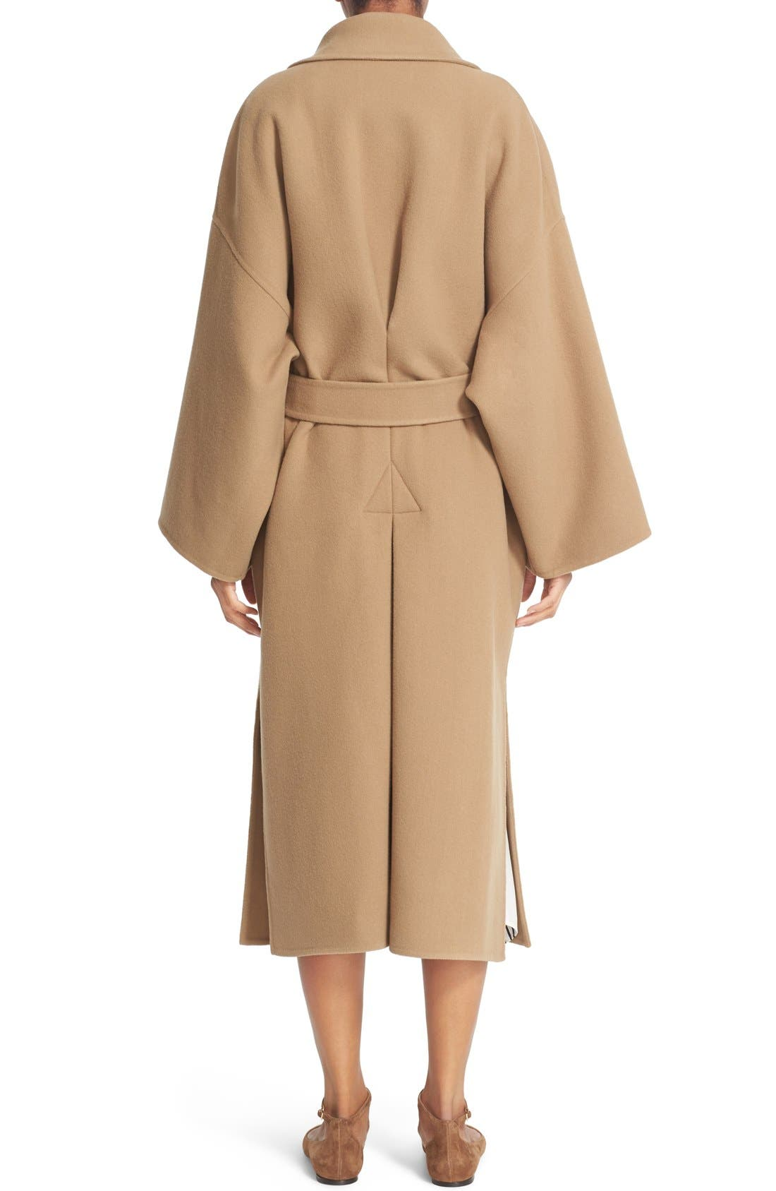 Alternate Image 2  - Loewe Double Face Cashmere & Wool Coat