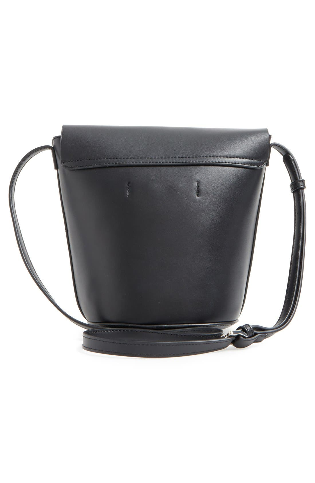 Alternate Image 3  - Street Level Faux Leather Envelope Bucket Bag