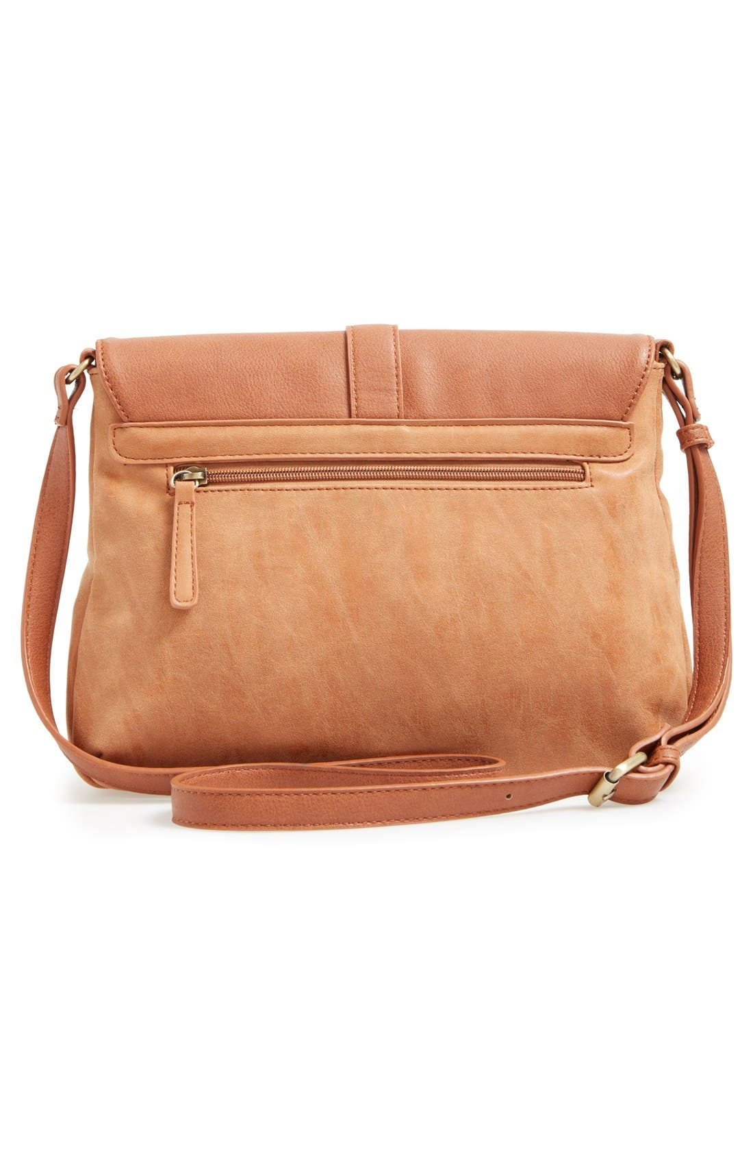 Alternate Image 3  - Sole Society Faux Leather Crossbody Bag