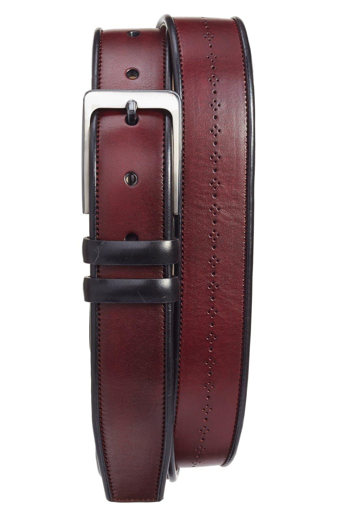 MEZLAN Ascot/Diver Leather Belt