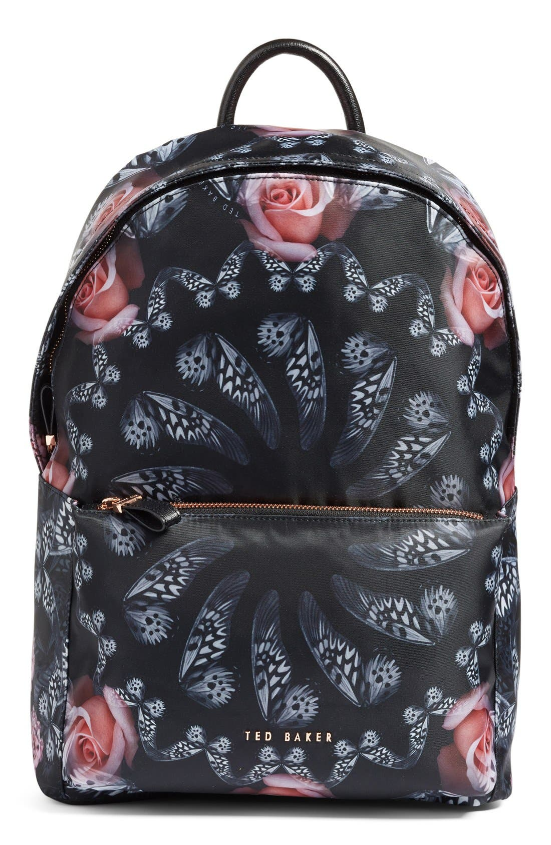 Main Image - Ted Baker London Dynamic Butterfly Print Backpack