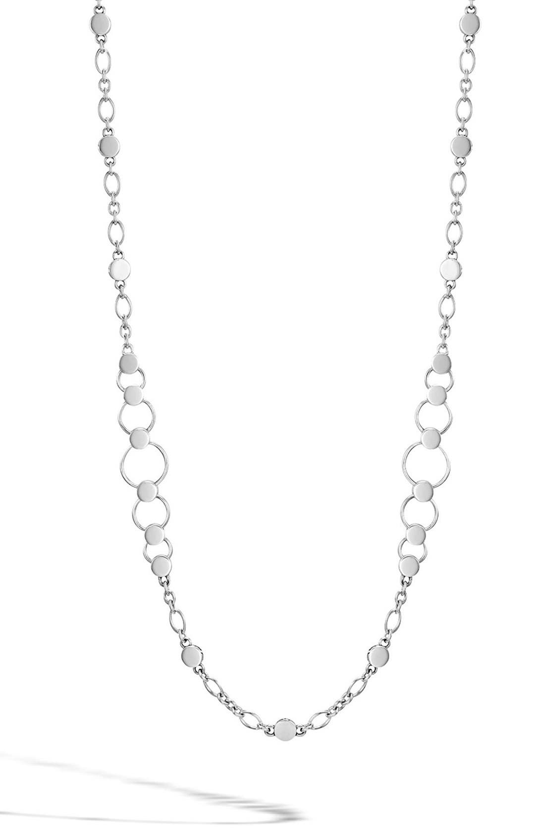 Main Image - John Hardy 'Dot' Long Link Necklace