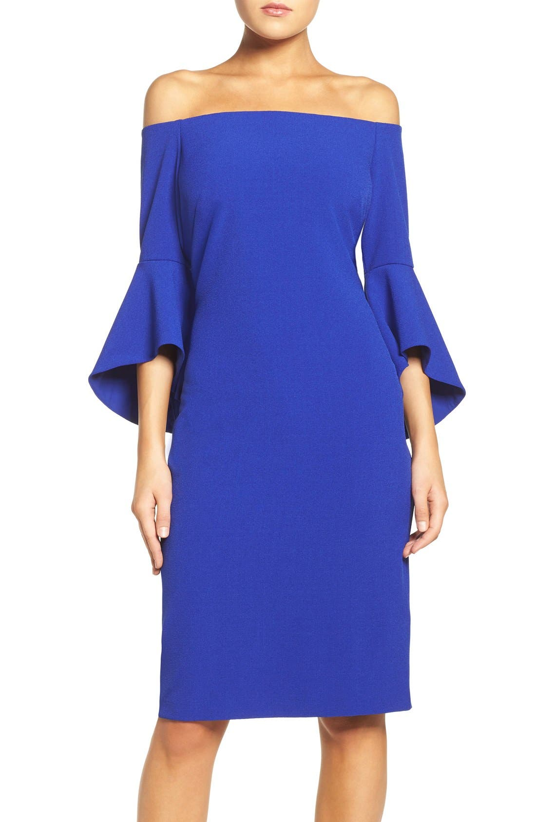Main Image - Chelsea28 Off the Shoulder Dress