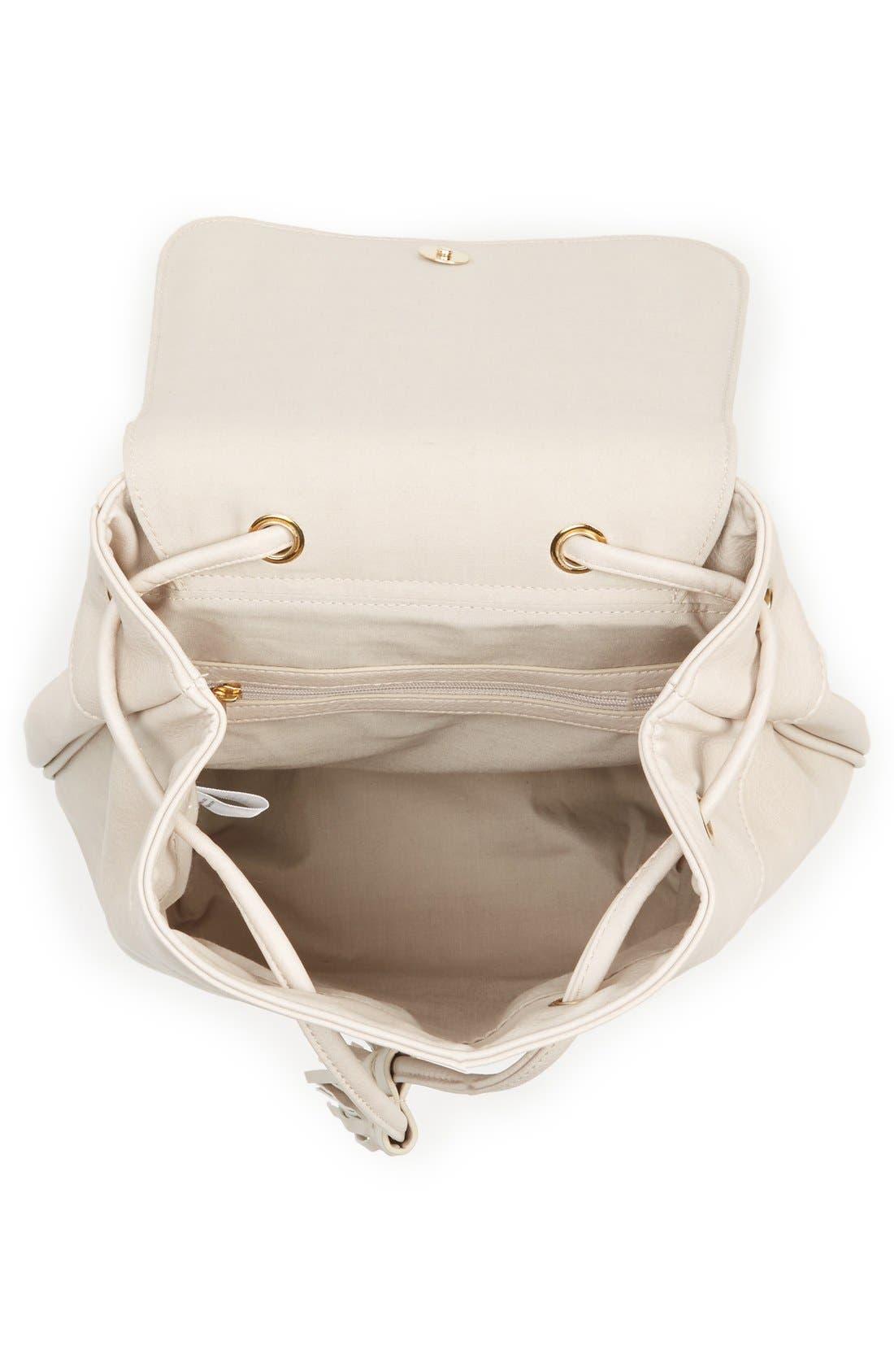 Alternate Image 3  - BP. Tassel Flap Faux Leather Backpack