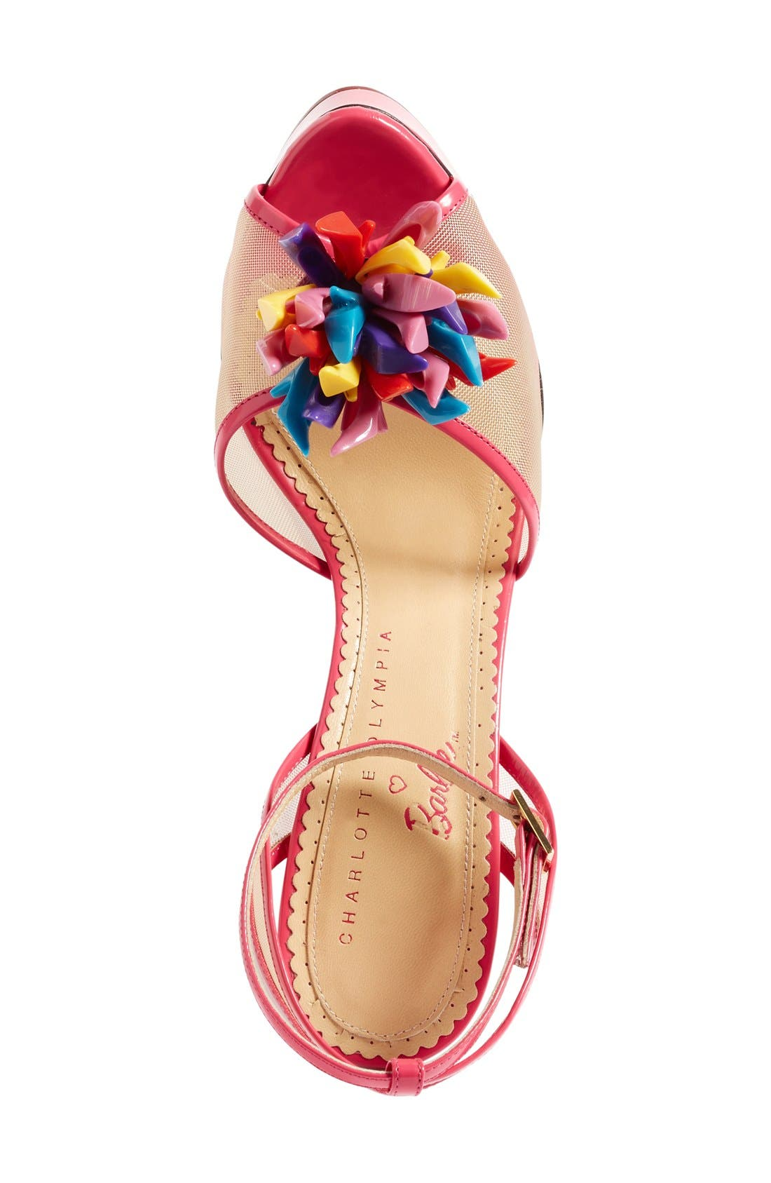 Alternate Image 3  - Charlotte Olympia x Barbie® Pomeline Peep Toe Sandal (Women)