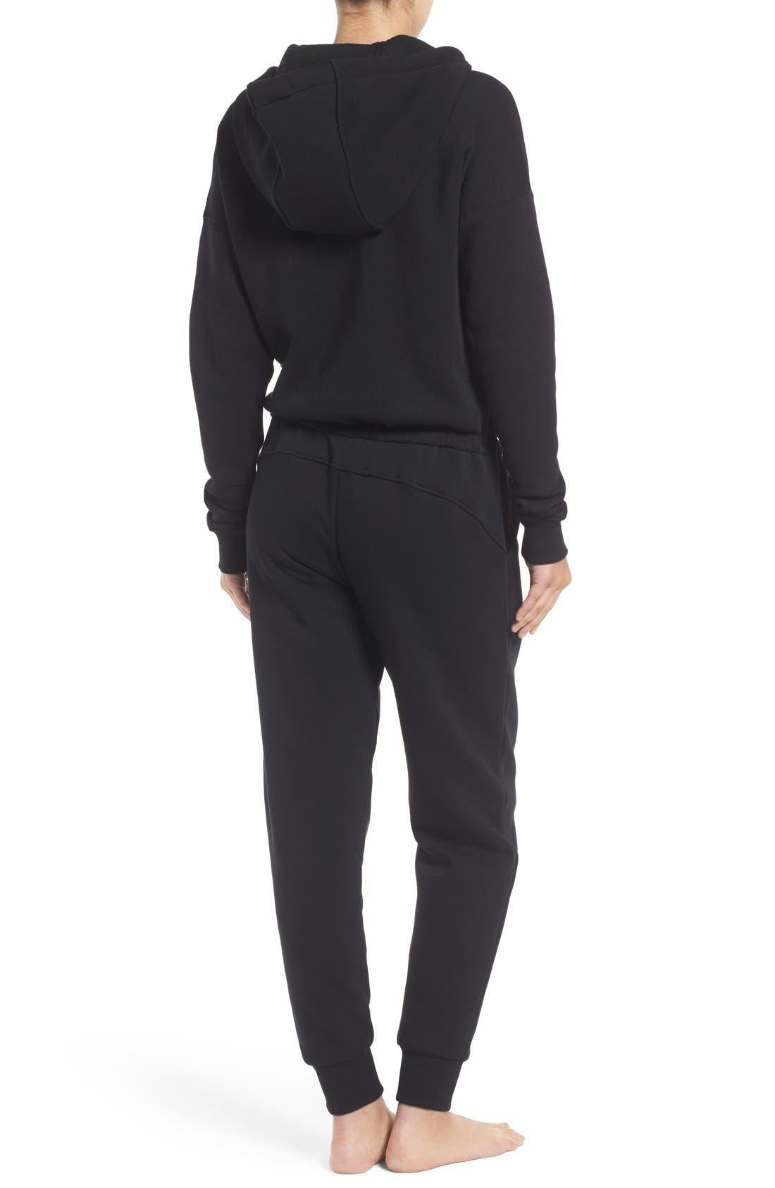 Alternate Image 2  - IVY PARK® Chenille Logo Fleece Jumpsuit