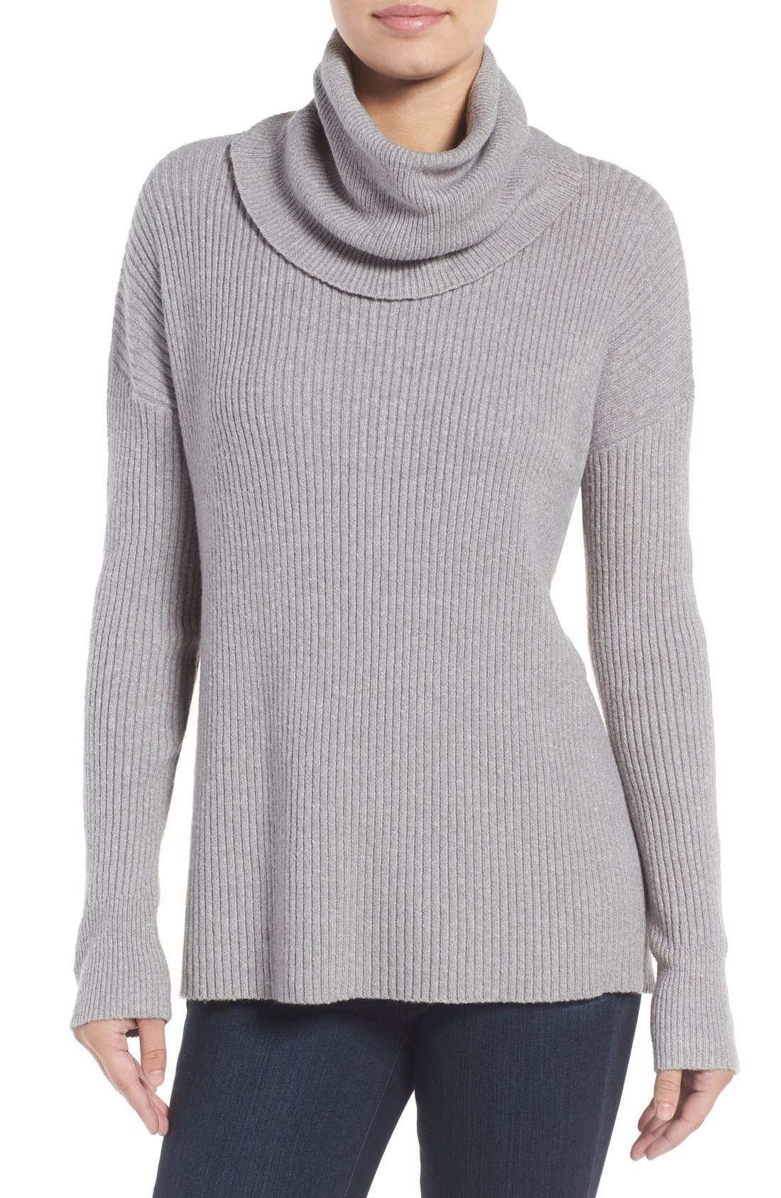 Main Image - cupcakes and cashmere Josh Turtleneck Sweater