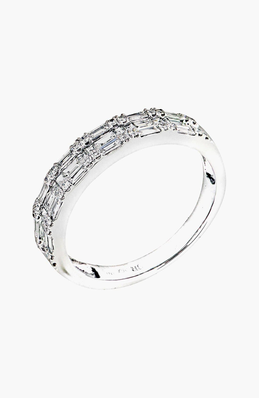 Bony Levy Stackable Diamond Baguette Band Ring (Nordstrom Exclusive)