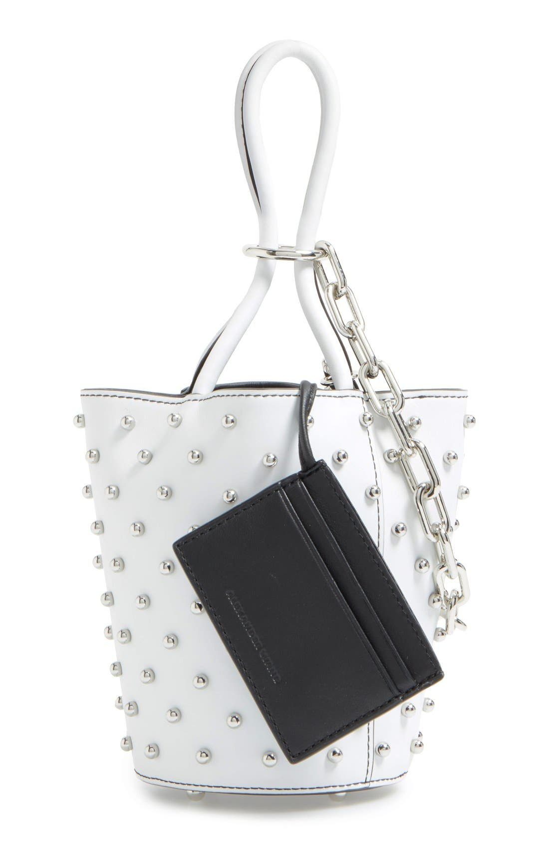 Alternate Image 2  - Alexander Wang Mini Palladium Leather Bucket Bag