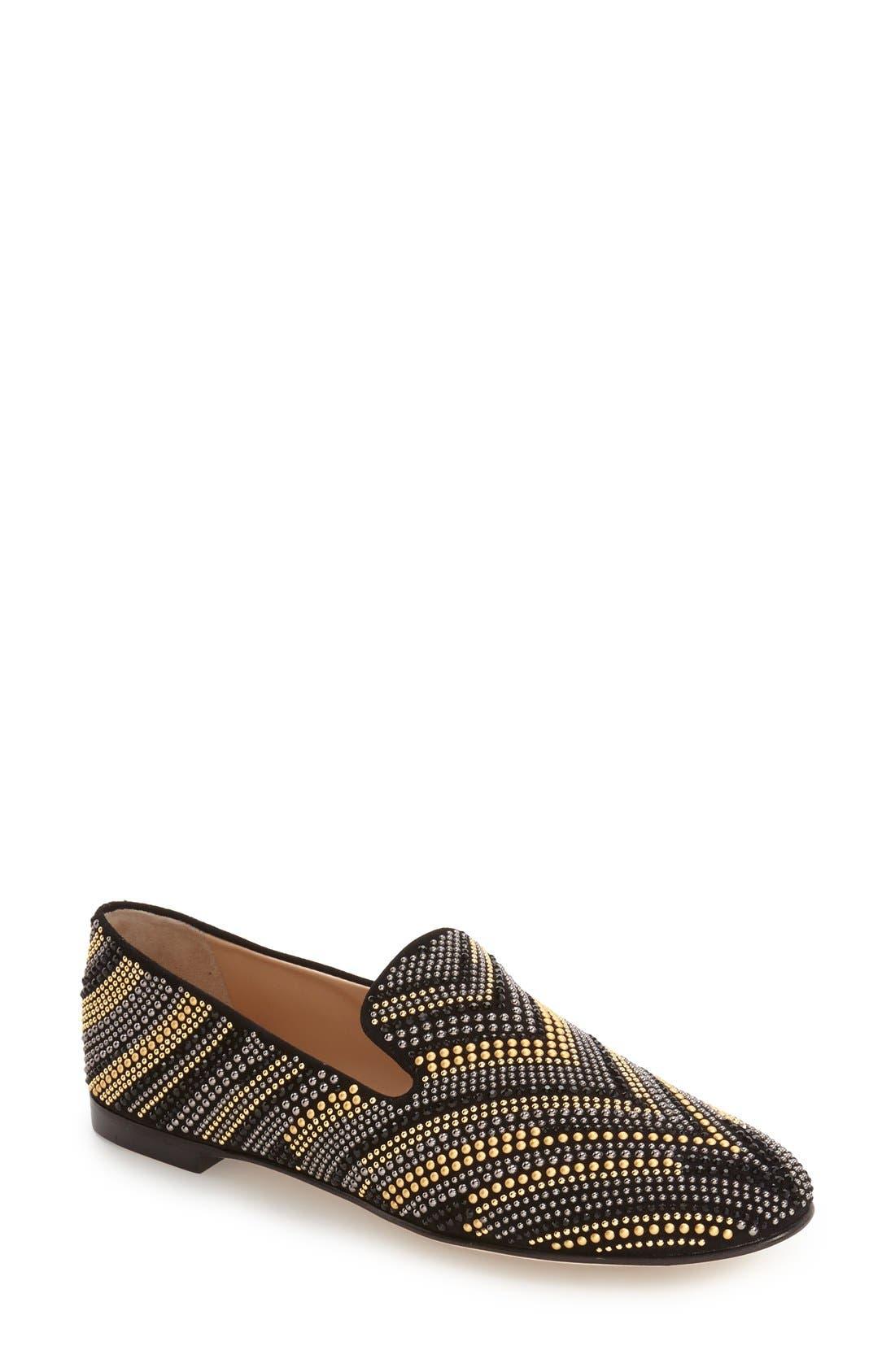 GIUSEPPE ZANOTTI 'Dalila - Embellished' Swarovski Crystal Loafer