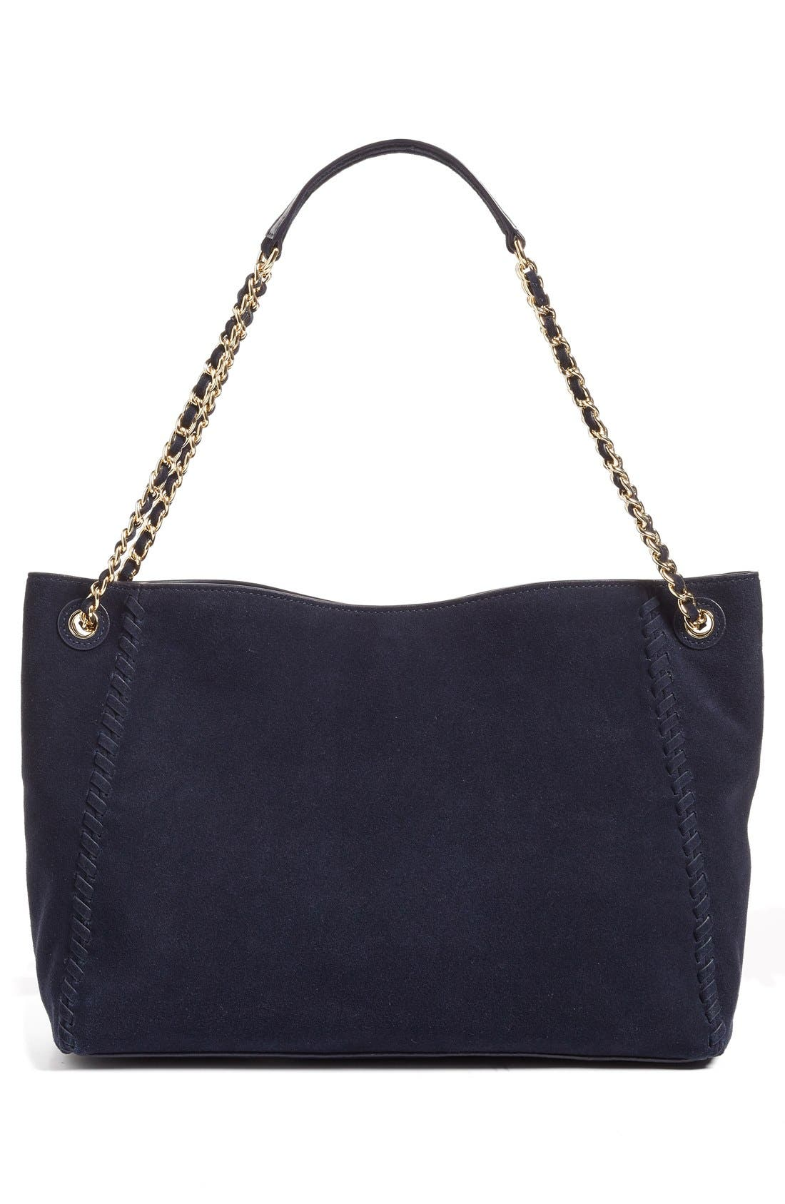 Alternate Image 3  - Tory Burch 'Marion' Suede Tote