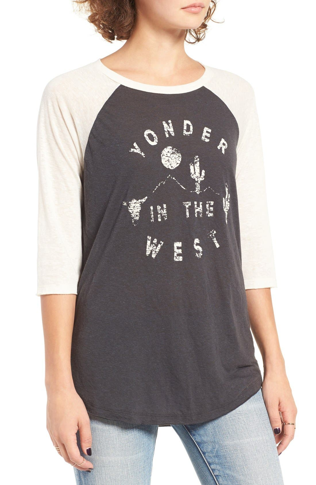 Alternate Image 3  - Billabong Yonder West Graphic Baseball Tee