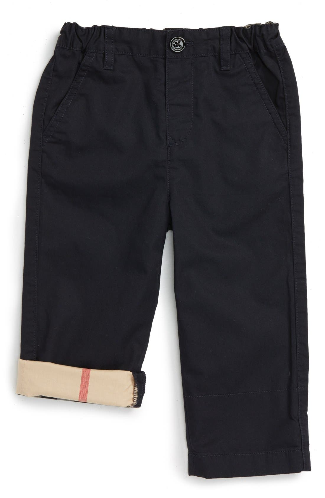 Burberry Ricky Cotton Twill Pants (Baby Boys)