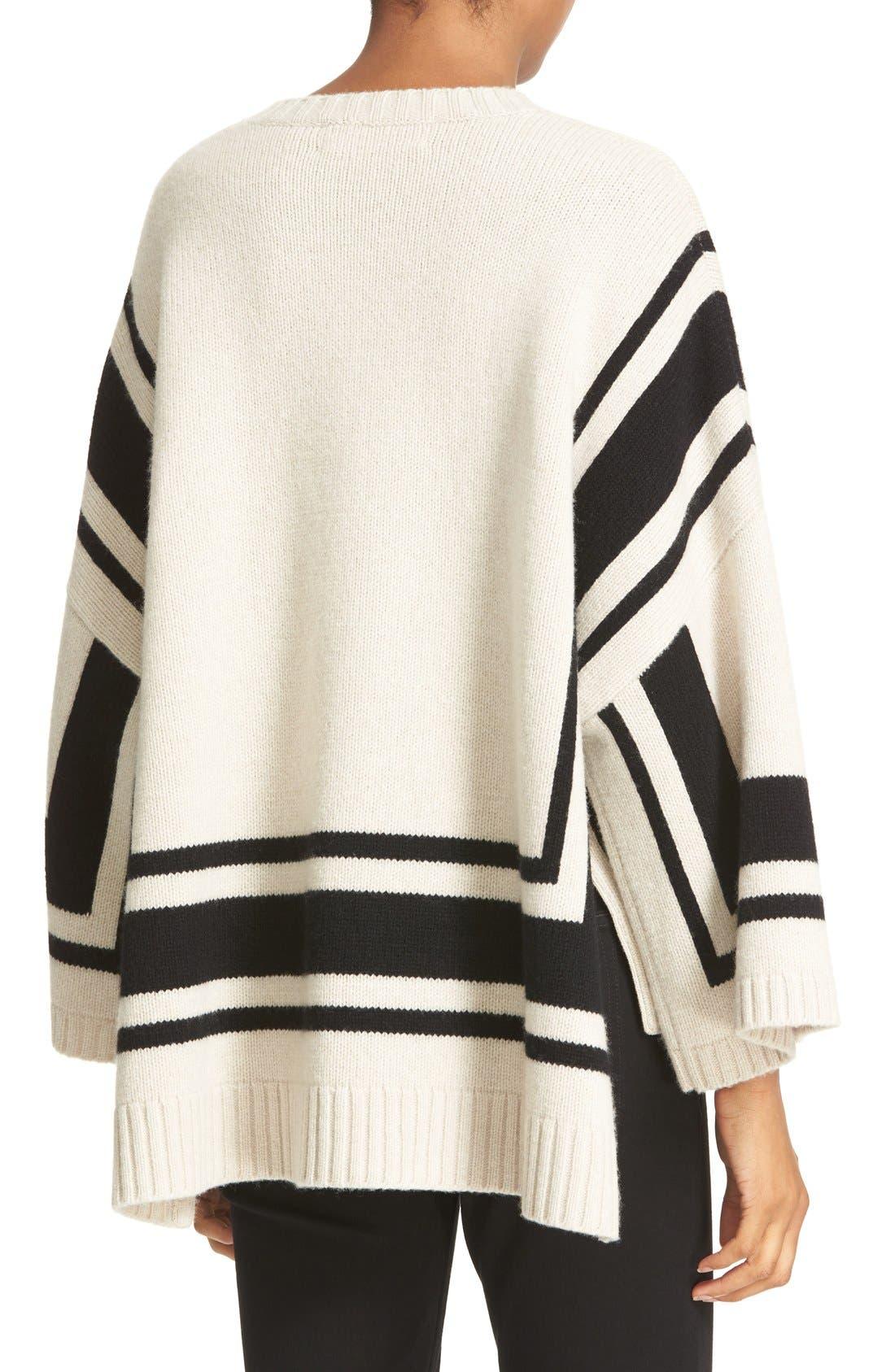 Alternate Image 2  - Derek Lam 10 Crosby Stripe Wool Sweater
