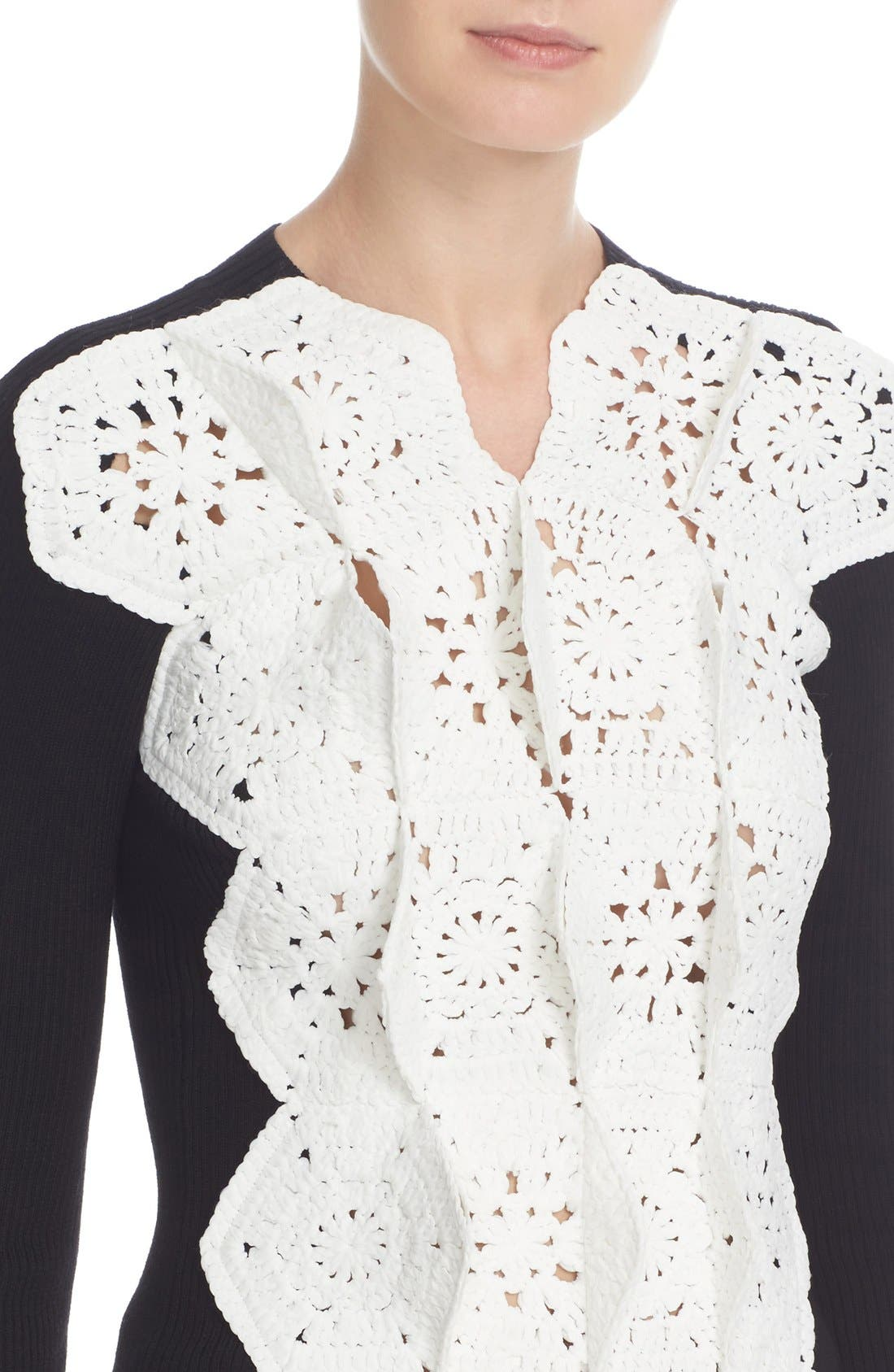 Alternate Image 6  - Junya Watanabe Crochet Lace Sweater