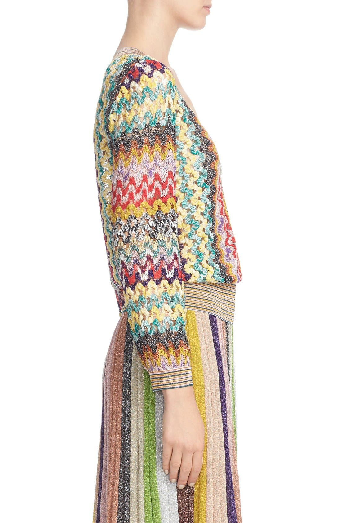 Alternate Image 5  - Missoni Metallic Knit Sweater