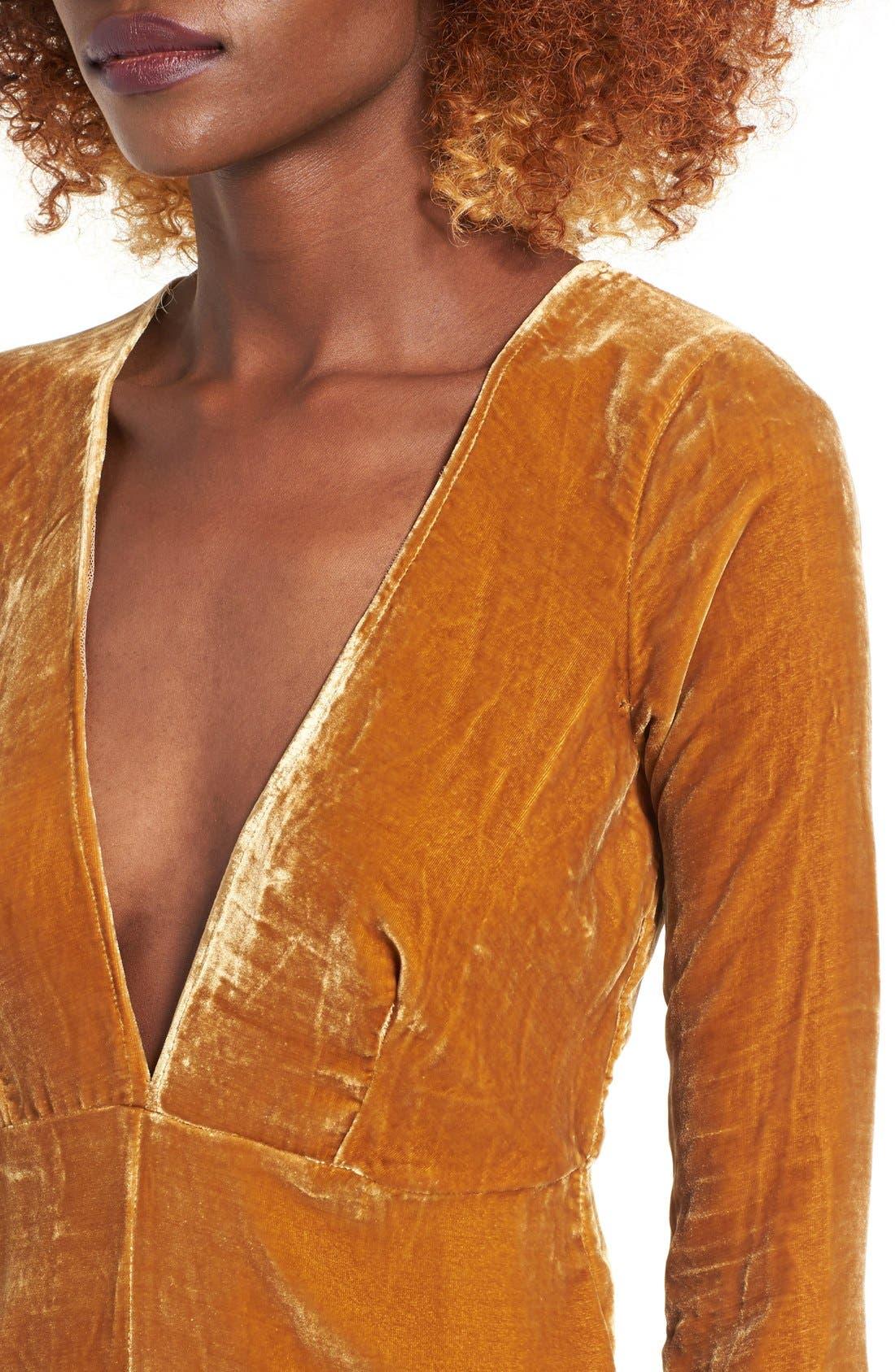 Alternate Image 4  - For Love & Lemons Collette Midi Dress