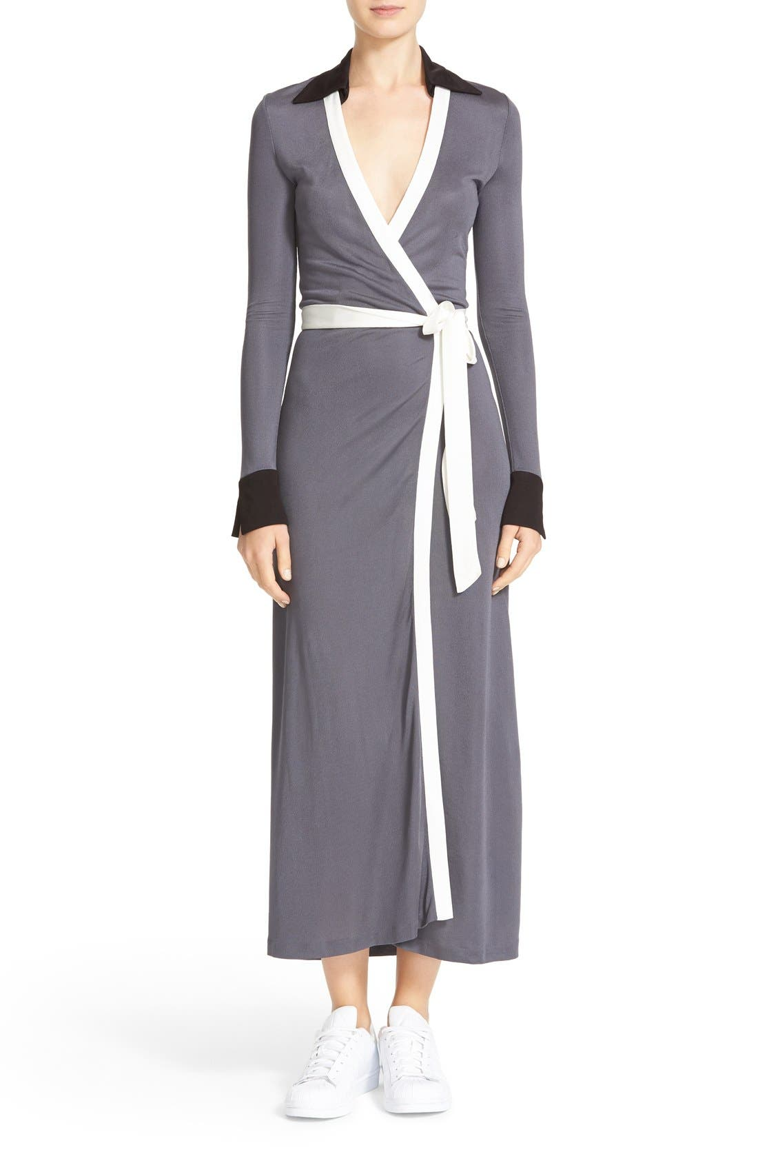 DIANE VON FURSTENBERG Cybil Two Wrap Dress