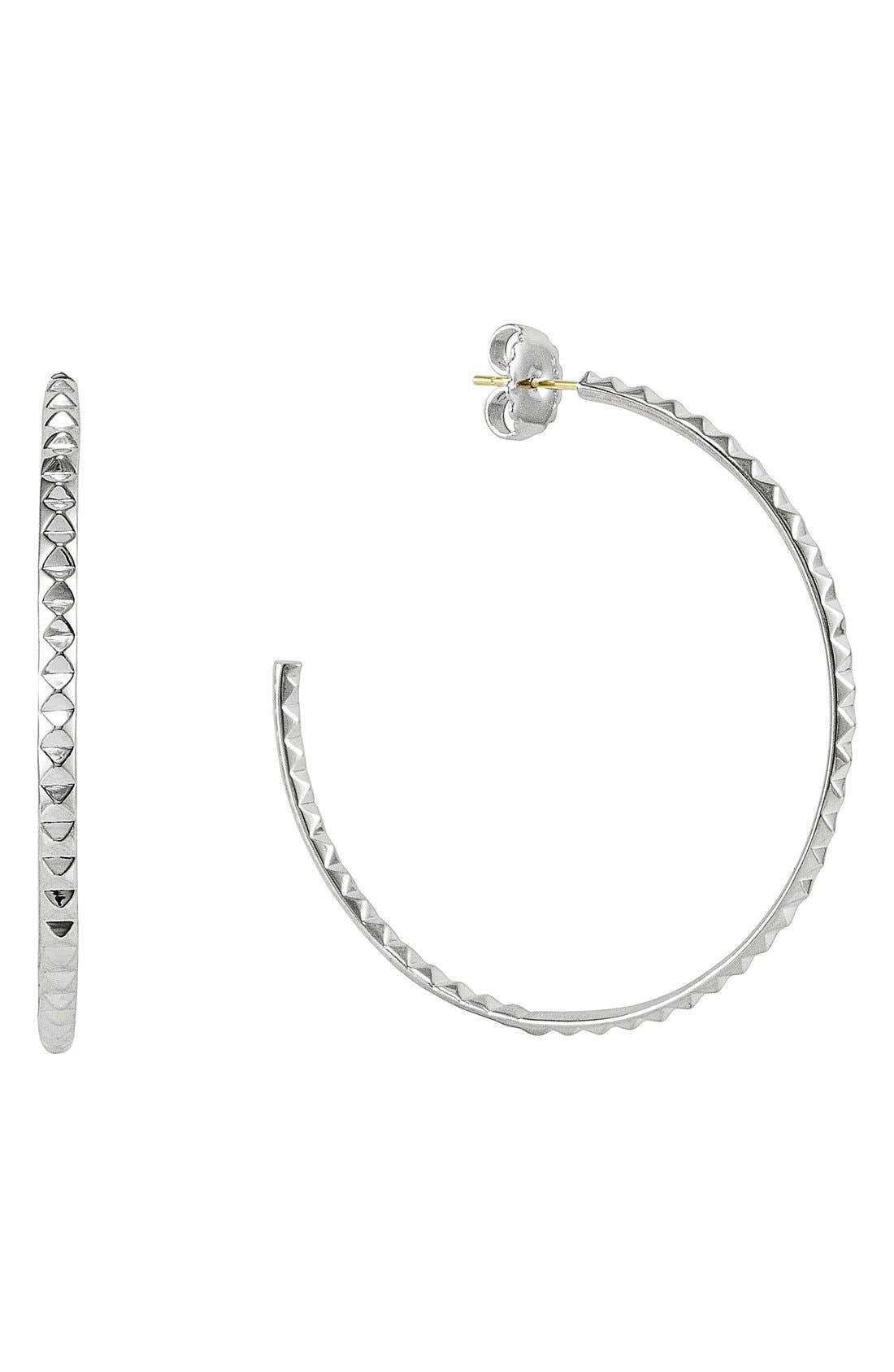 Alternate Image 1 Selected - LAGOS 'Sugarloaf' Hoop Earrings